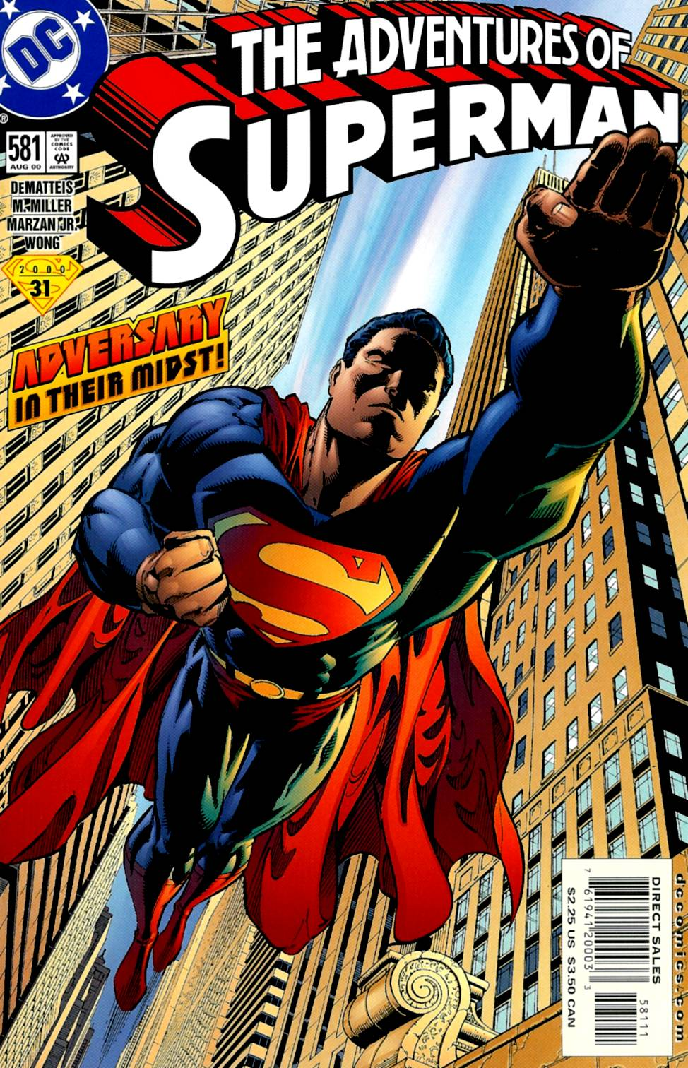 Read online Adventures of Superman (1987) comic -  Issue #581 - 1