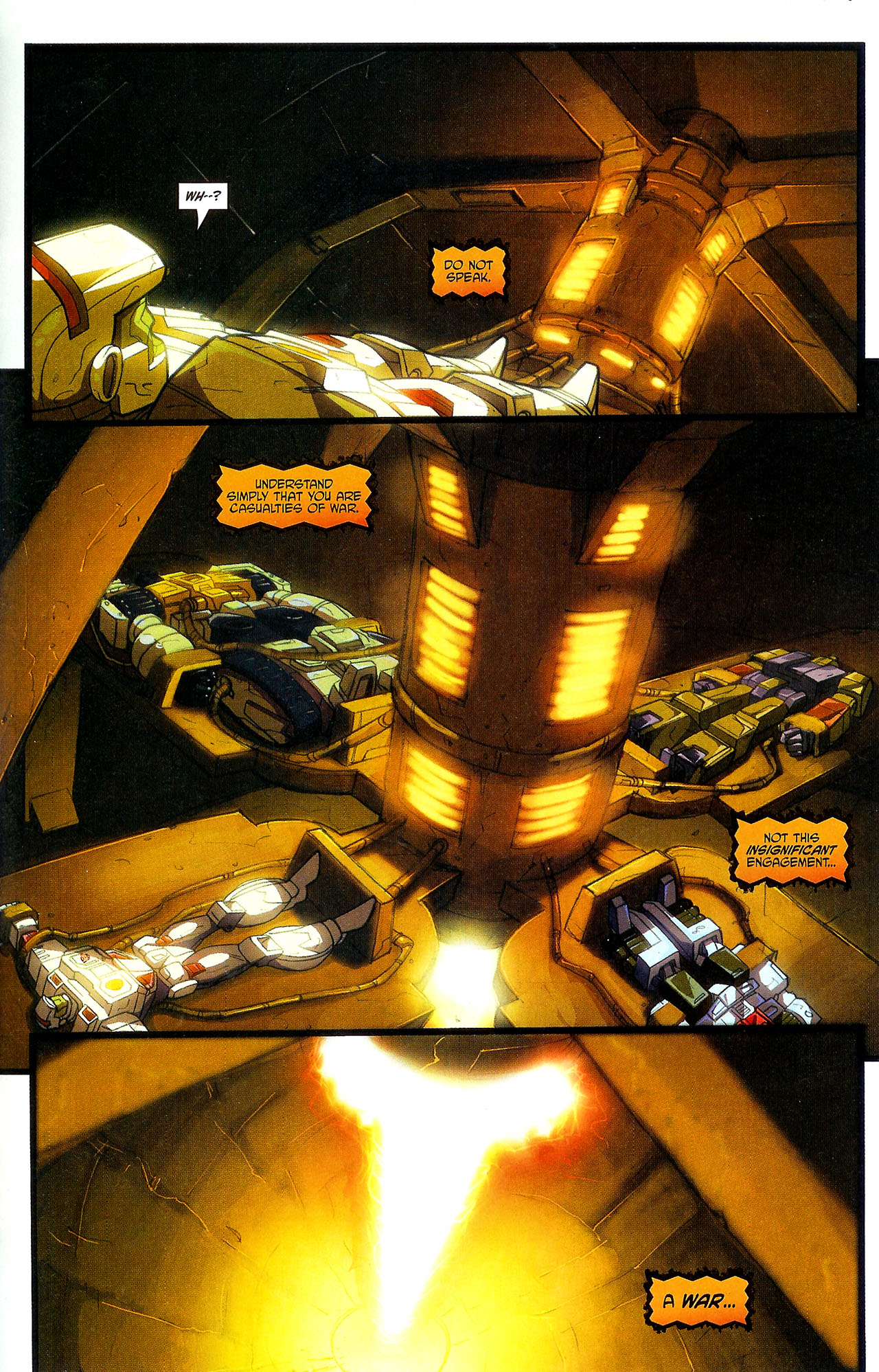 """Read online Transformers War Within: """"The Dark Ages"""" comic -  Issue #5 - 21"""