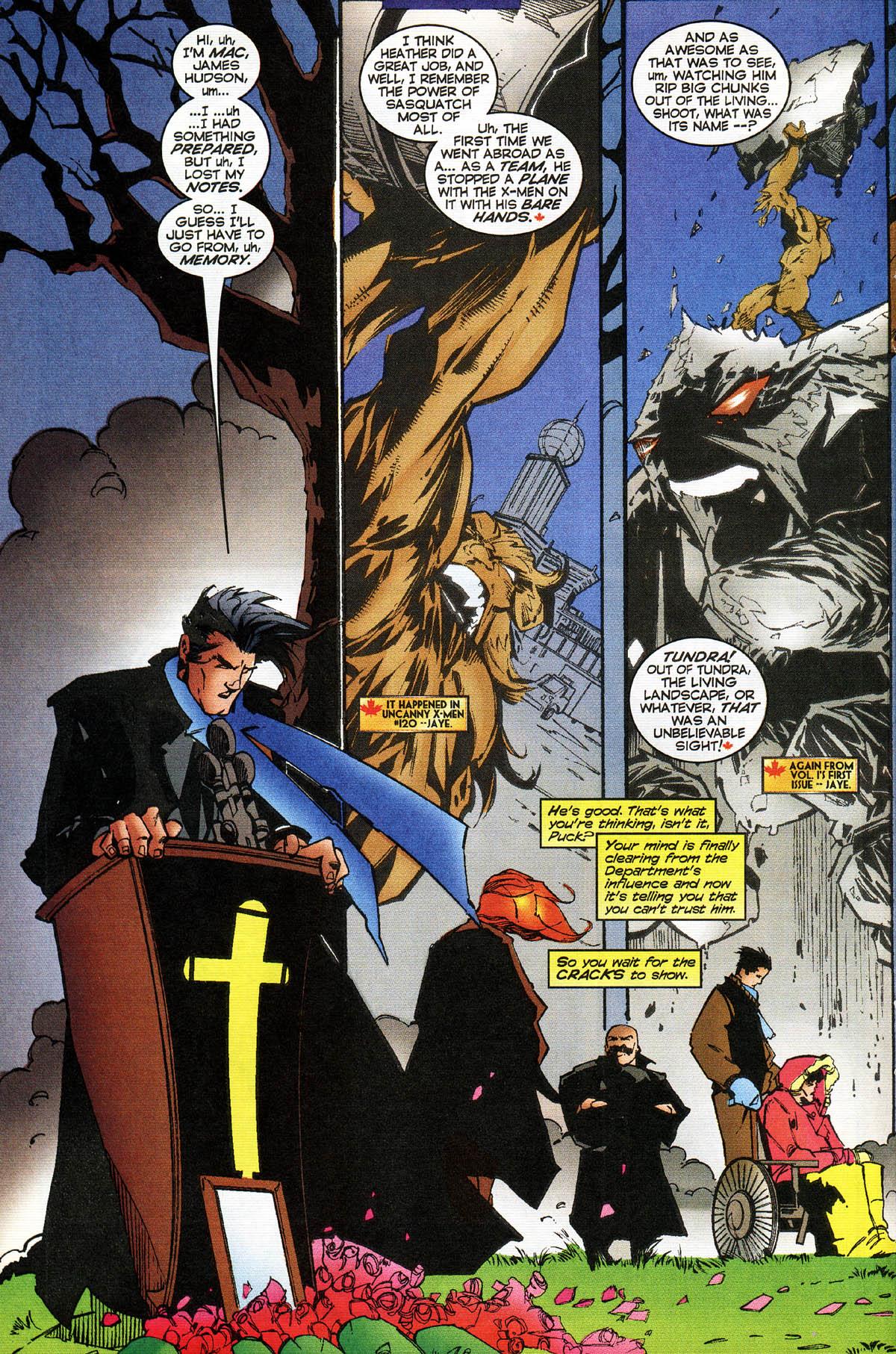 Read online Alpha Flight (1997) comic -  Issue #14 - 16