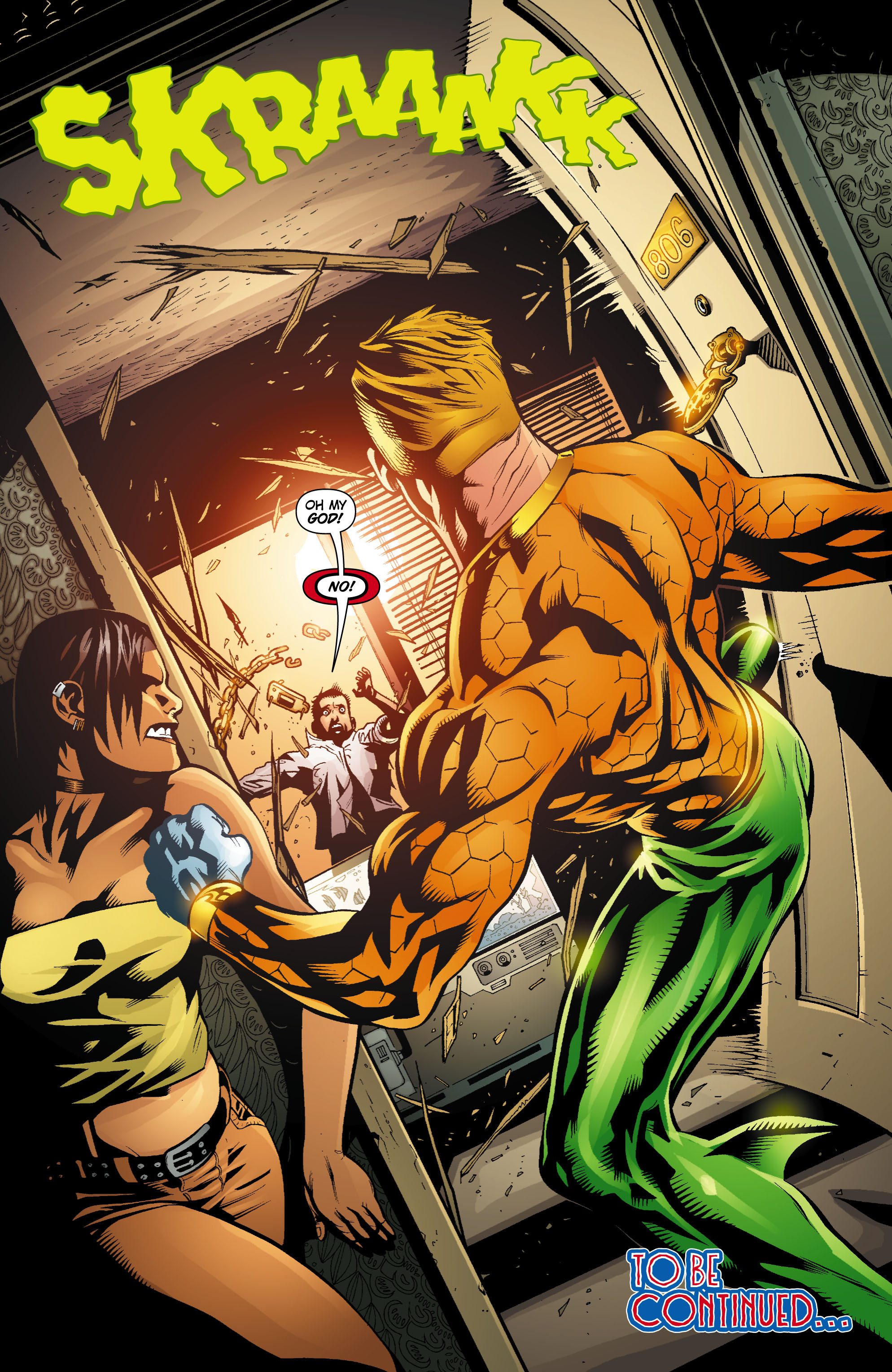 Read online Aquaman (2003) comic -  Issue #18 - 23