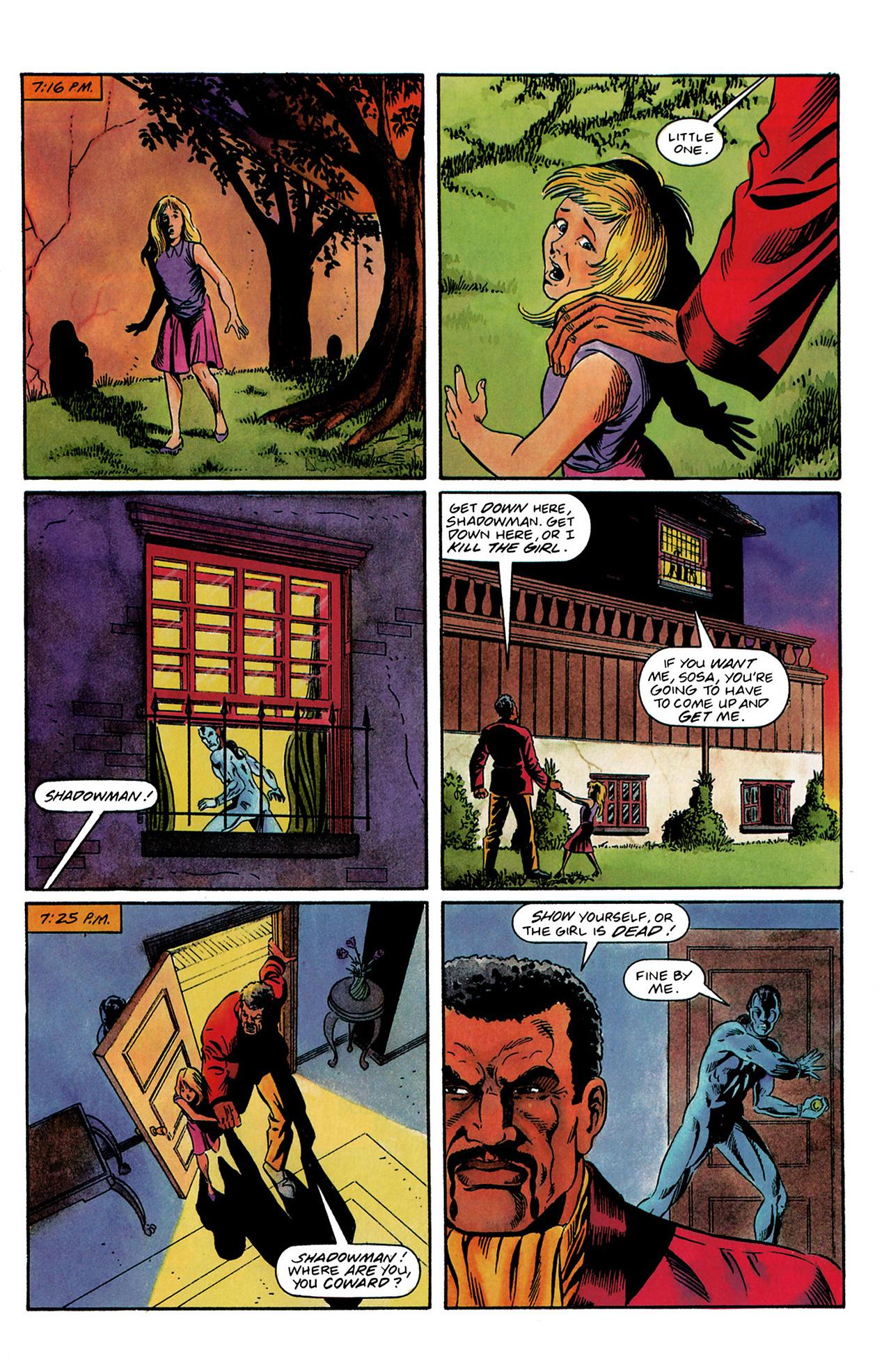 Read online Shadowman (1992) comic -  Issue #3 - 20