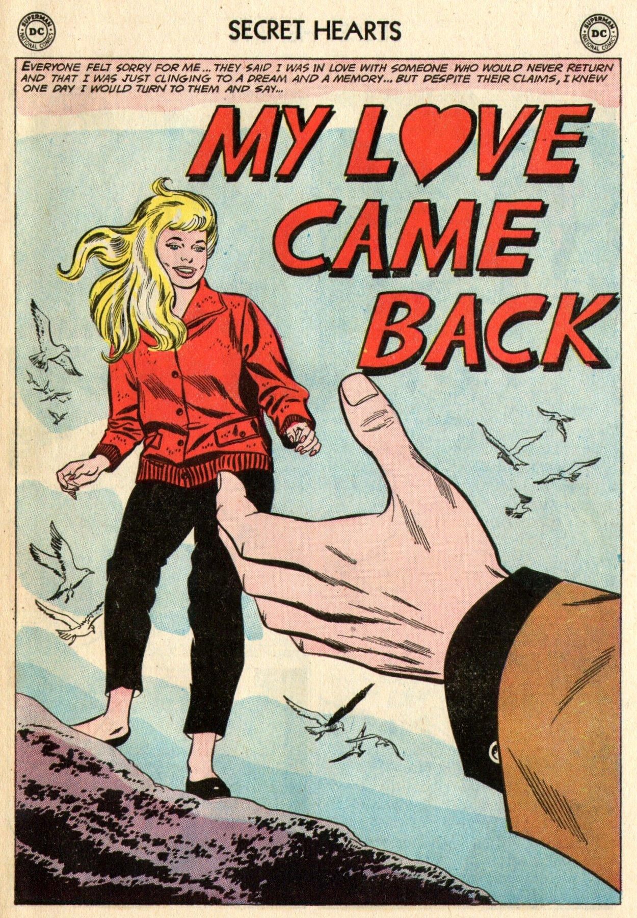Read online Secret Hearts comic -  Issue #95 - 27