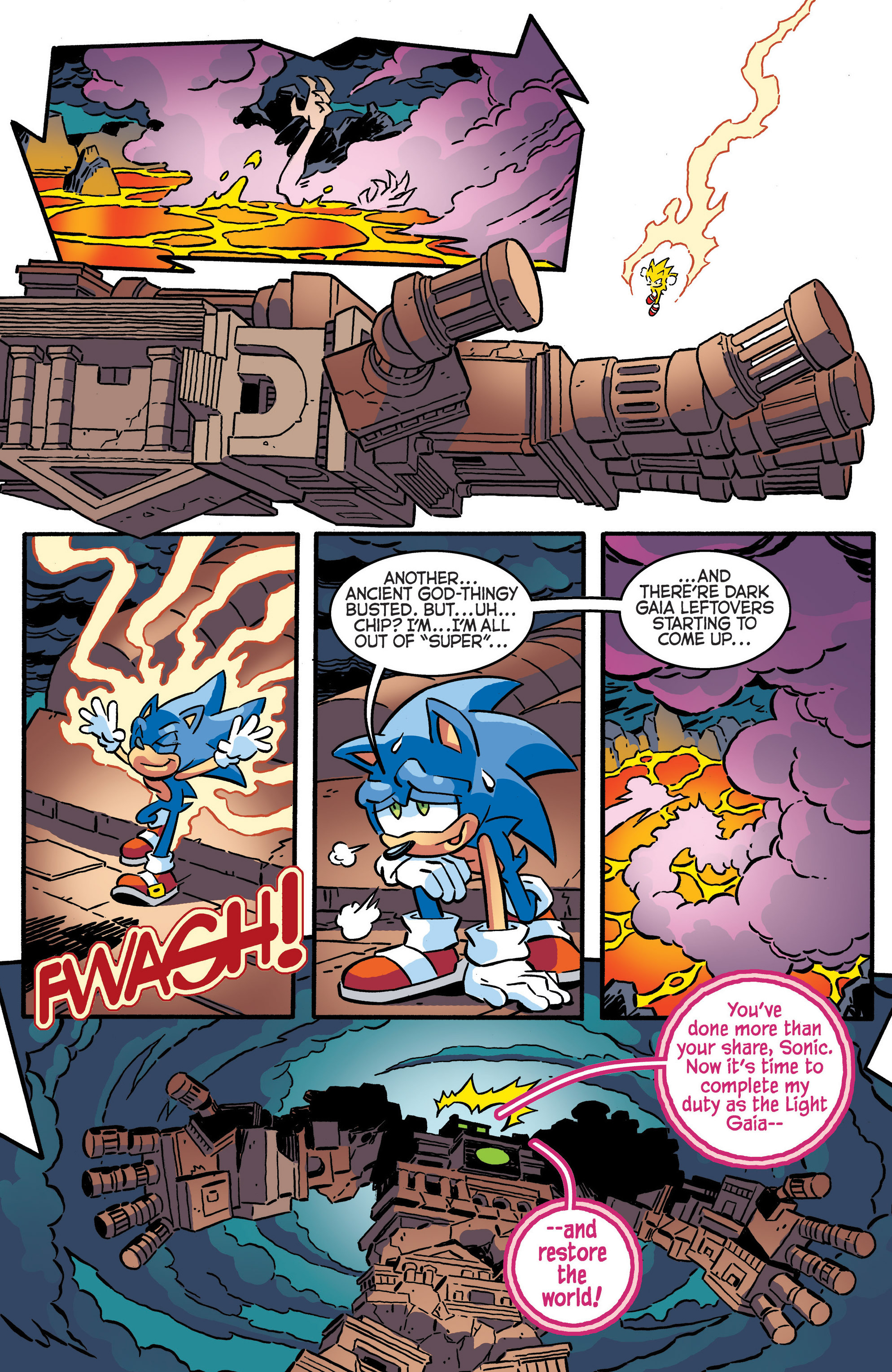 Read online Sonic The Hedgehog comic -  Issue #287 - 14