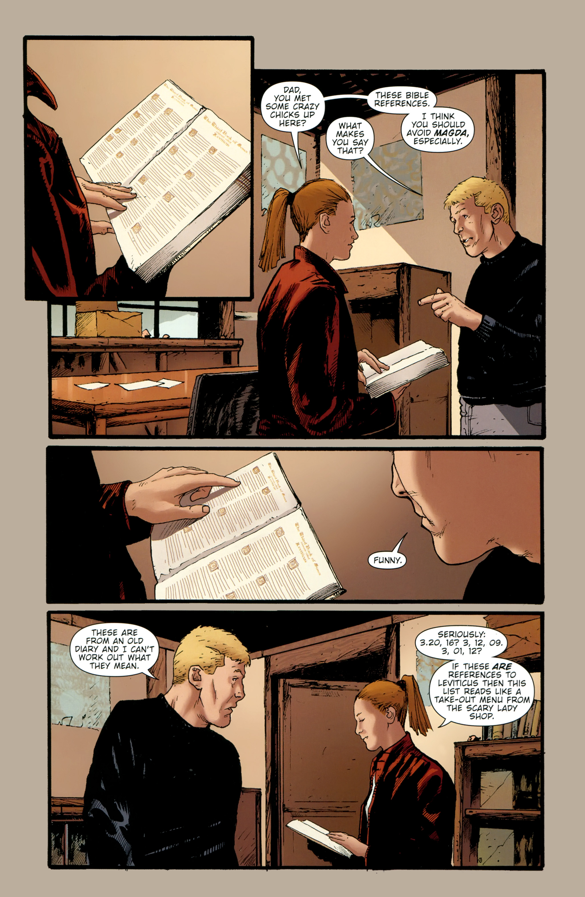 Read online The Girl With the Dragon Tattoo comic -  Issue # TPB 2 - 32
