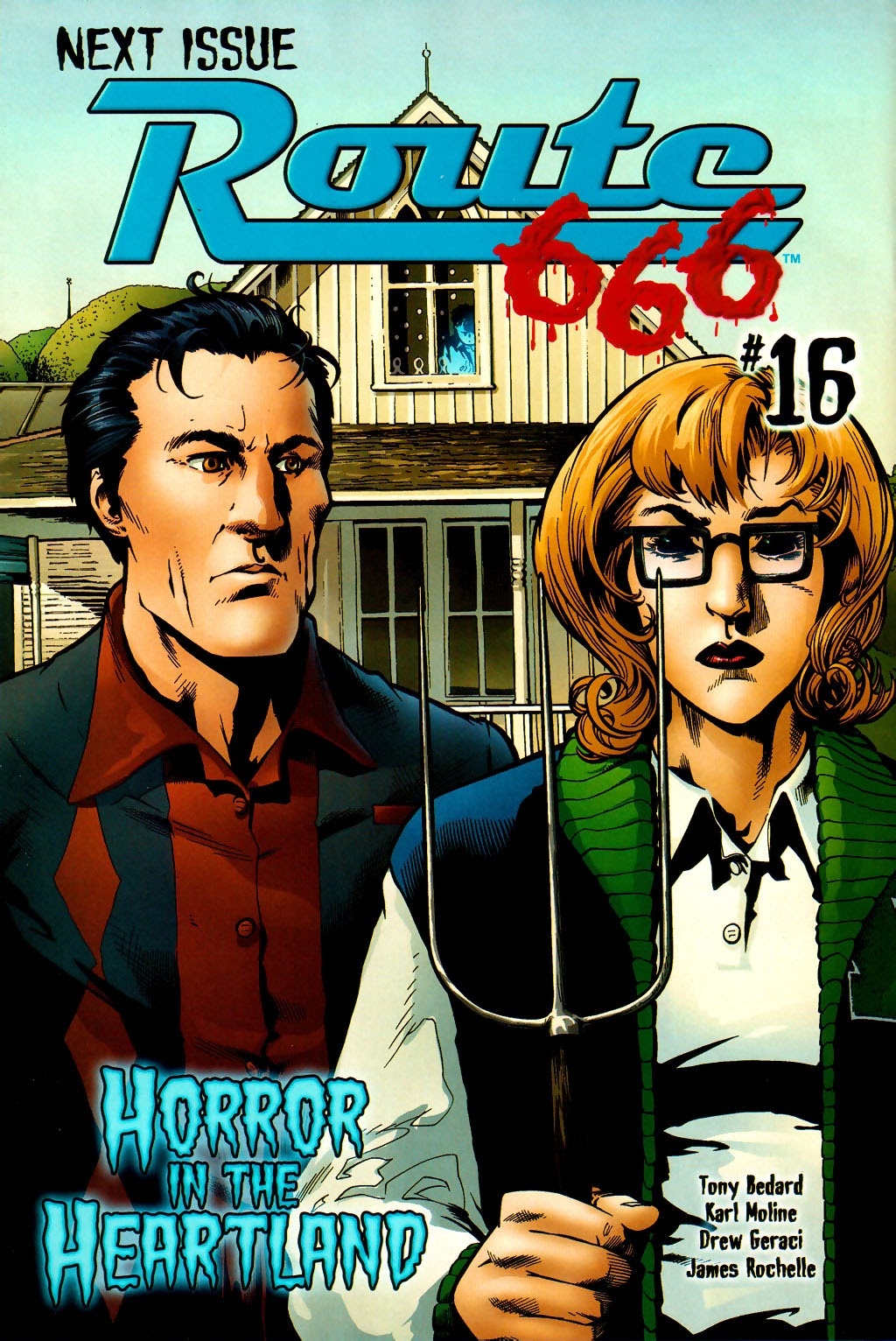 Read online Route 666 comic -  Issue #15 - 25