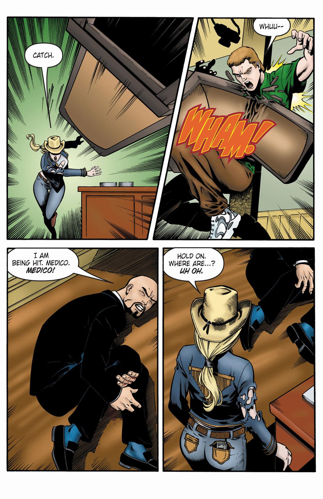 Read online SideChicks comic -  Issue #1 - 32