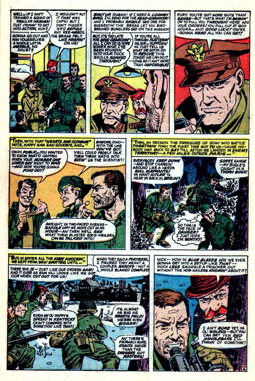 Read online Sgt. Fury comic -  Issue #44 - 10