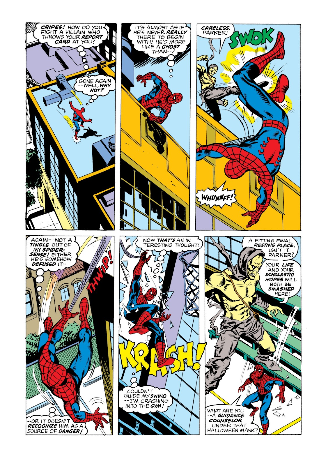 Read online Marvel Masterworks: The Spectacular Spider-Man comic -  Issue # TPB 2 (Part 3) - 59