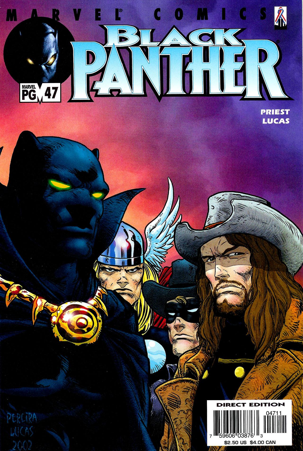 Black Panther (1998) 47 Page 1