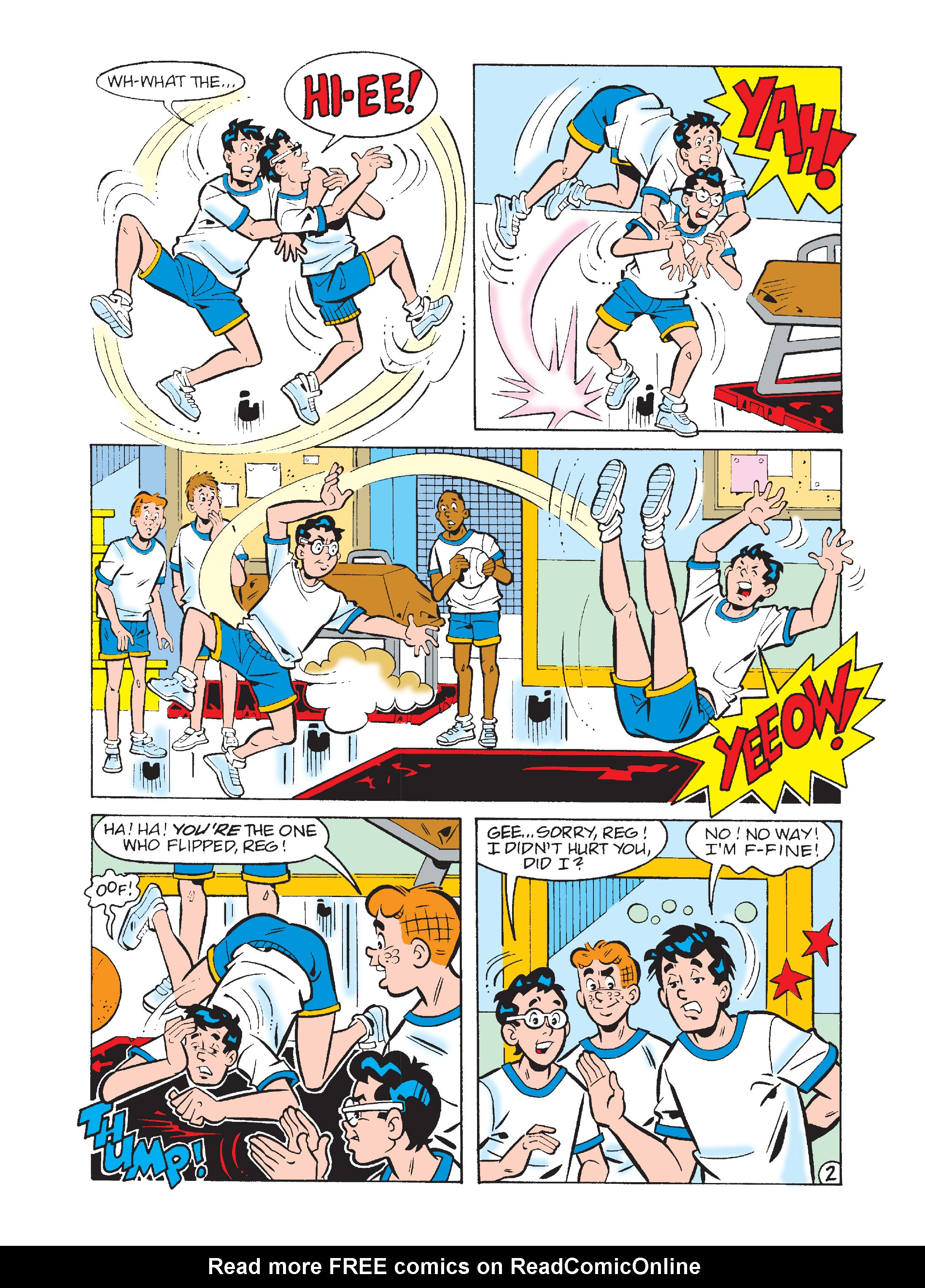 Read online Archie's Funhouse Double Digest comic -  Issue #2 - 90