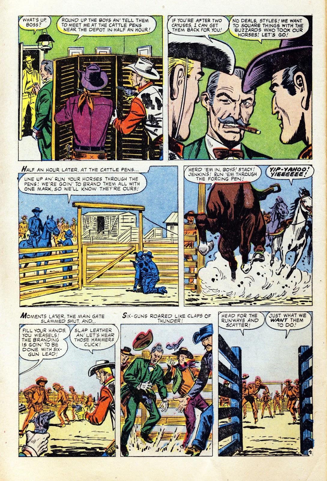 Gunsmoke Western issue 36 - Page 6