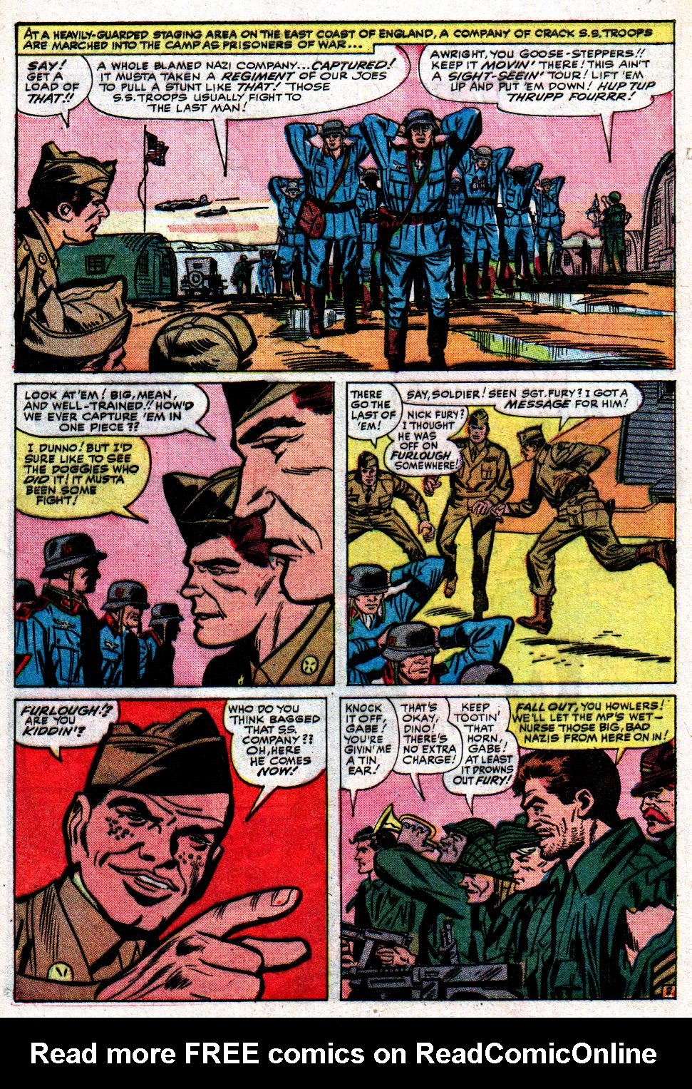 Read online Sgt. Fury comic -  Issue #8 - 4