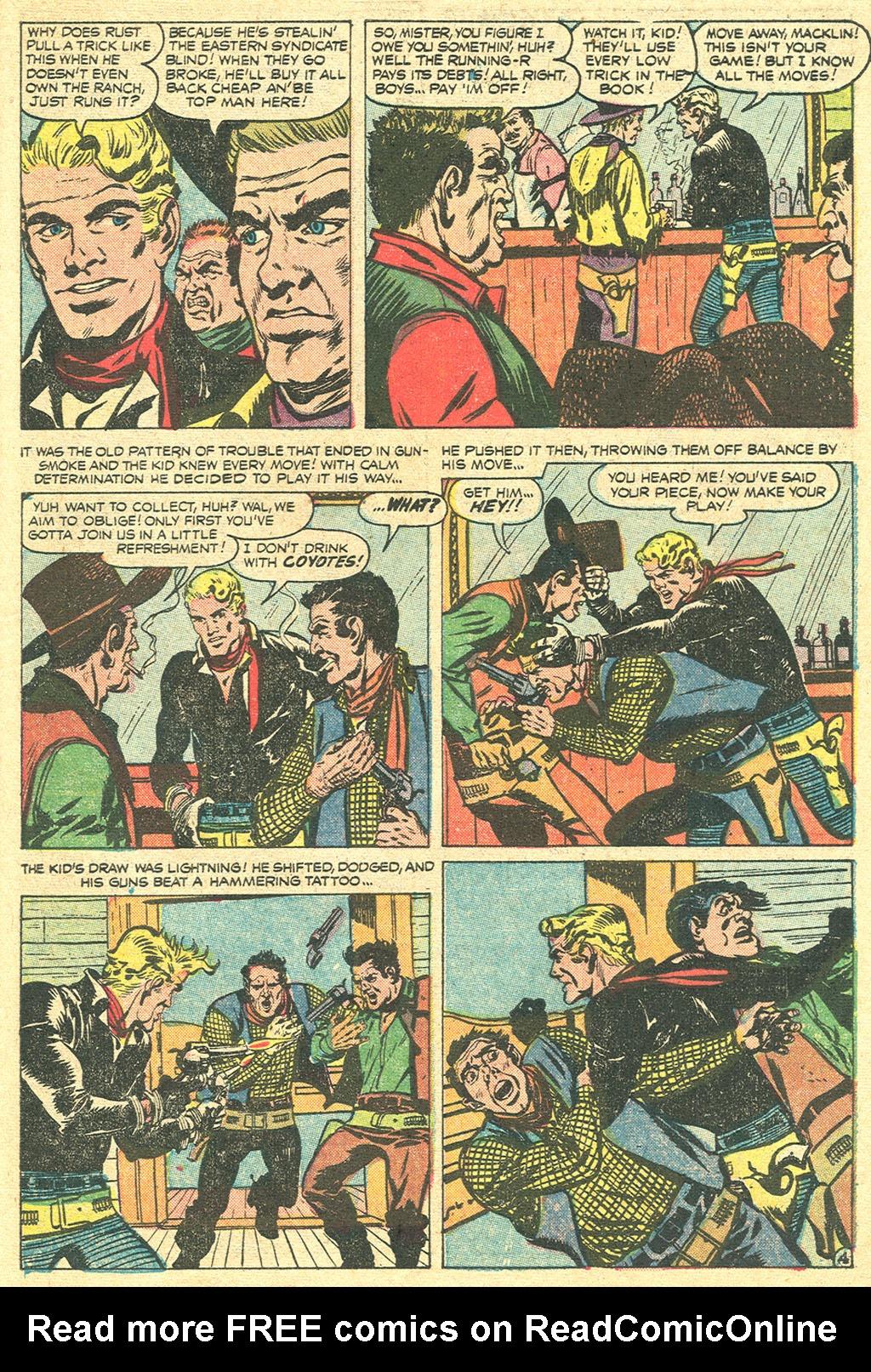 Read online Two-Gun Kid comic -  Issue #31 - 31
