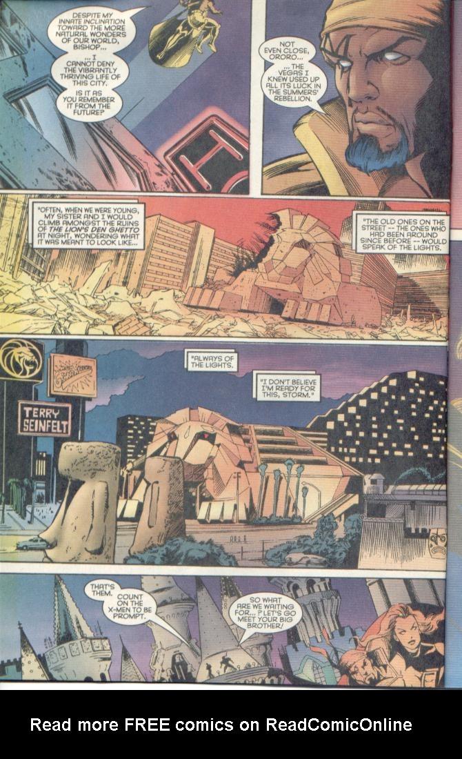 Read online Uncanny X-Men (1963) comic -  Issue # _Annual 1996 - 12