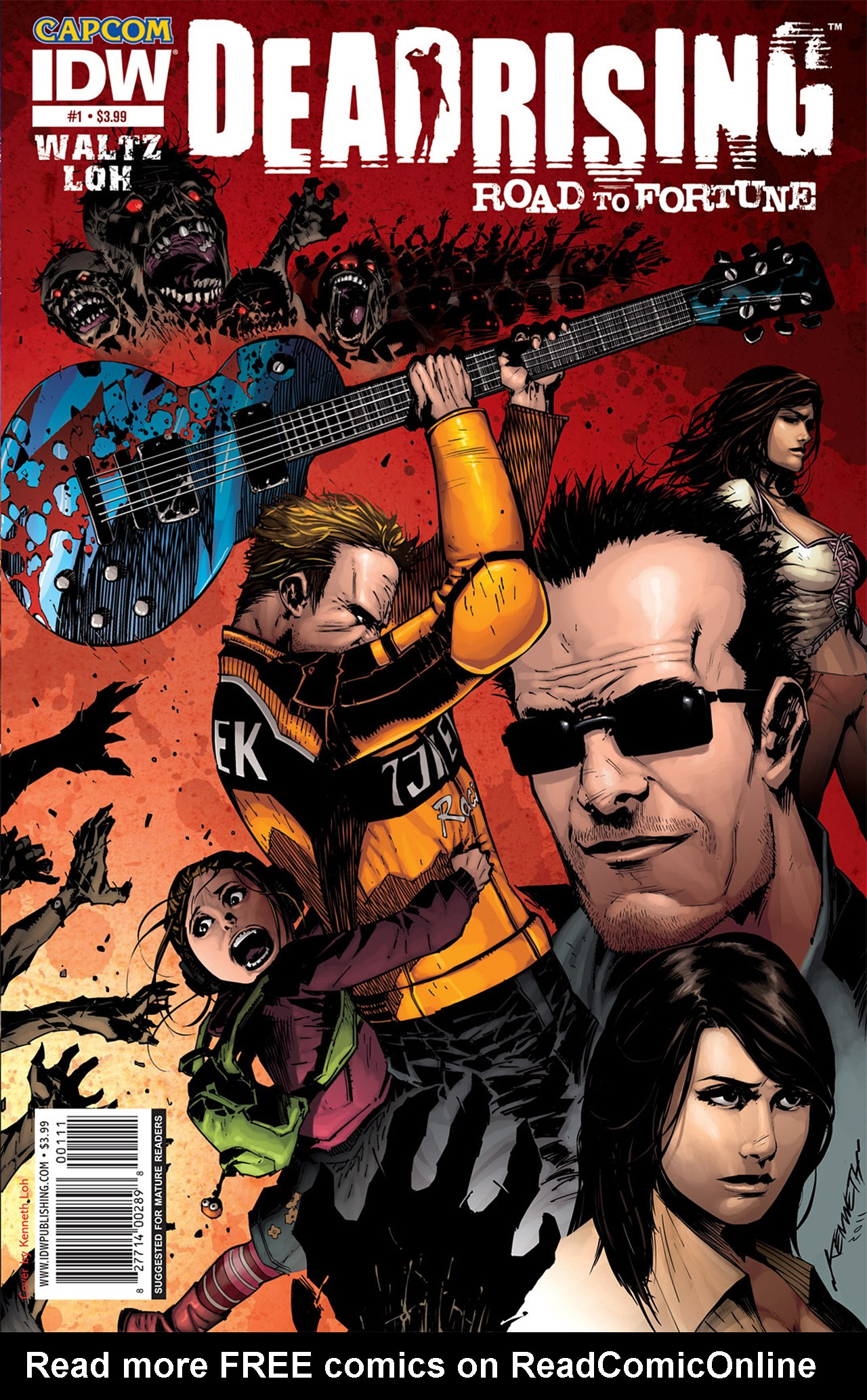 Read online Dead Rising: Road to Fortune comic -  Issue # TPB - 4