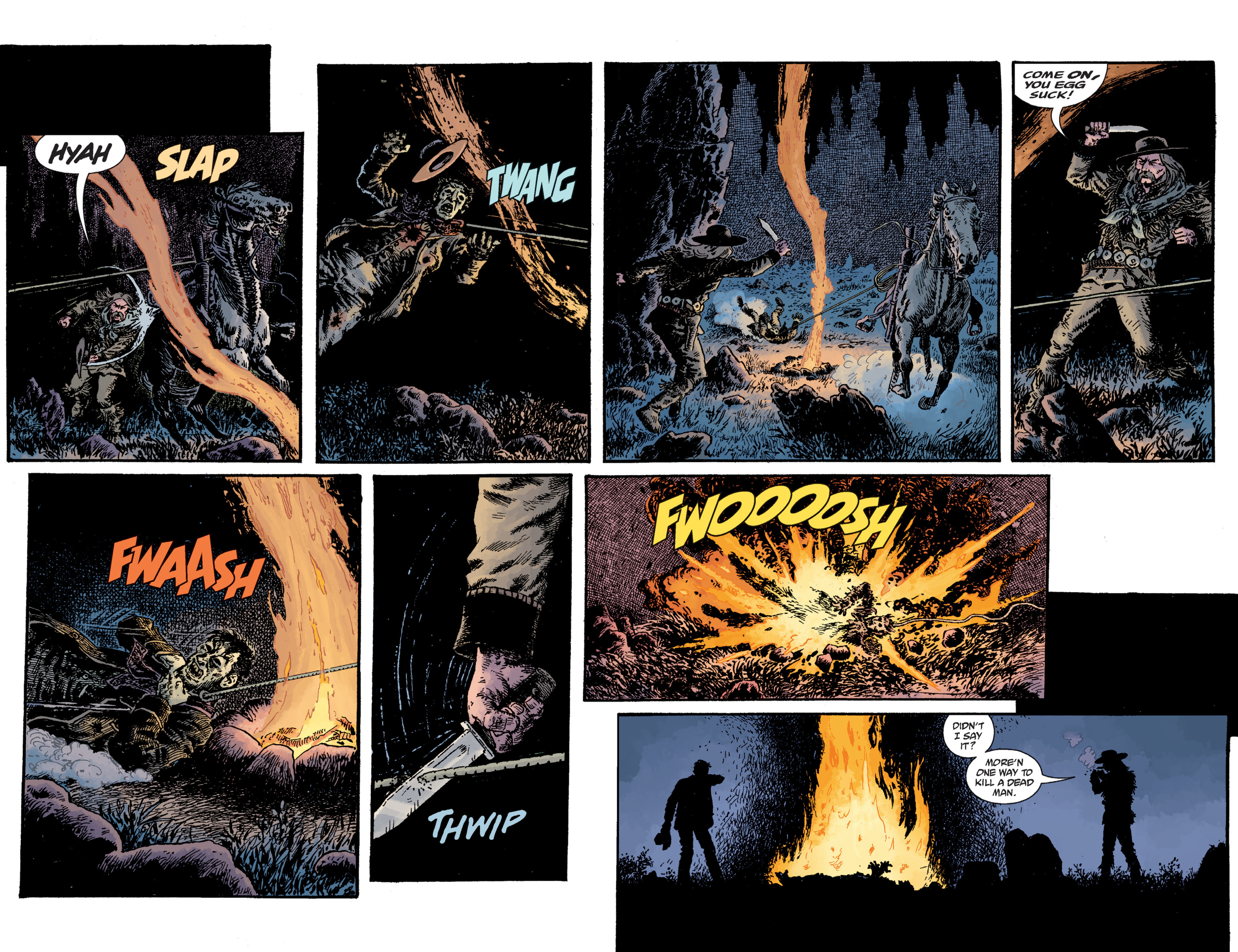 Read online Sir Edward Grey, Witchfinder: Lost and Gone Forever comic -  Issue # TPB - 58