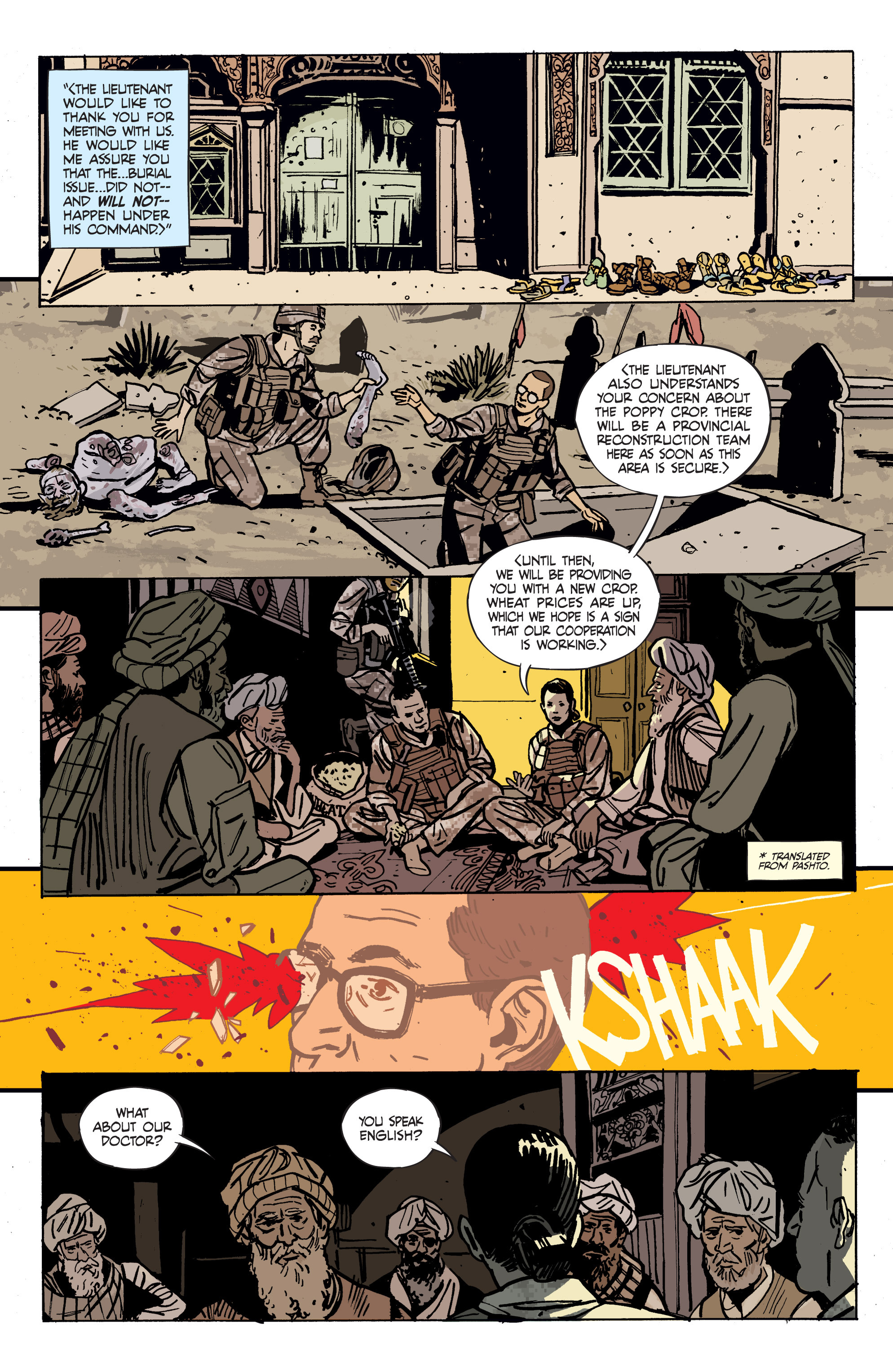 Read online Graveyard of Empires comic -  Issue # TPB - 33
