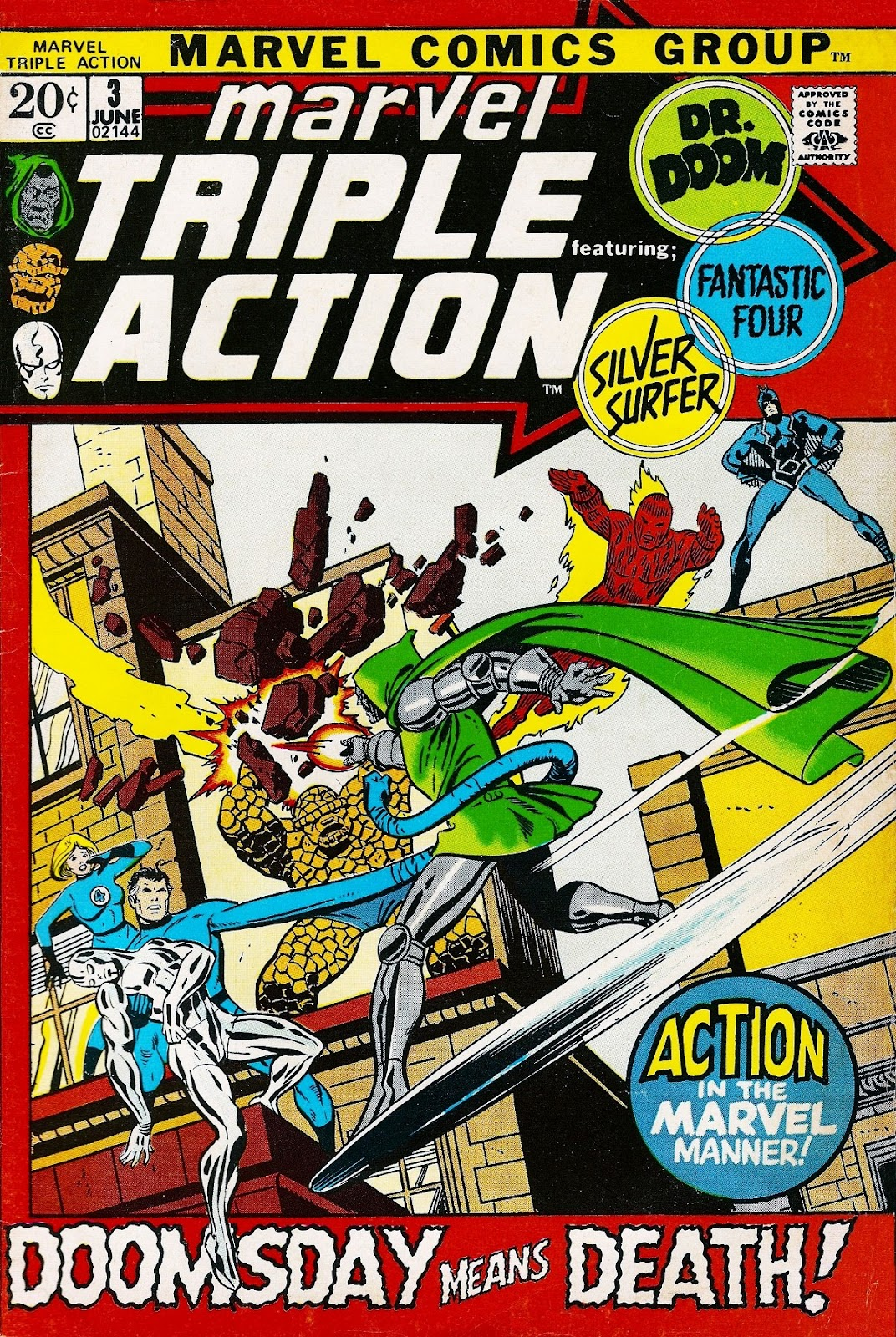 Marvel Triple Action (1972) issue 3 - Page 1