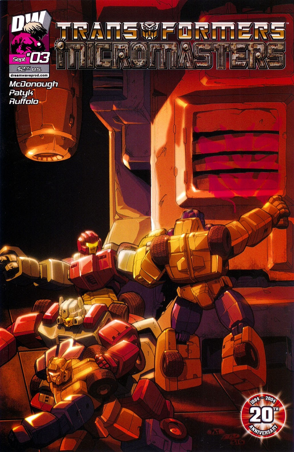 Read online Transformers: Micromasters comic -  Issue #3 - 1