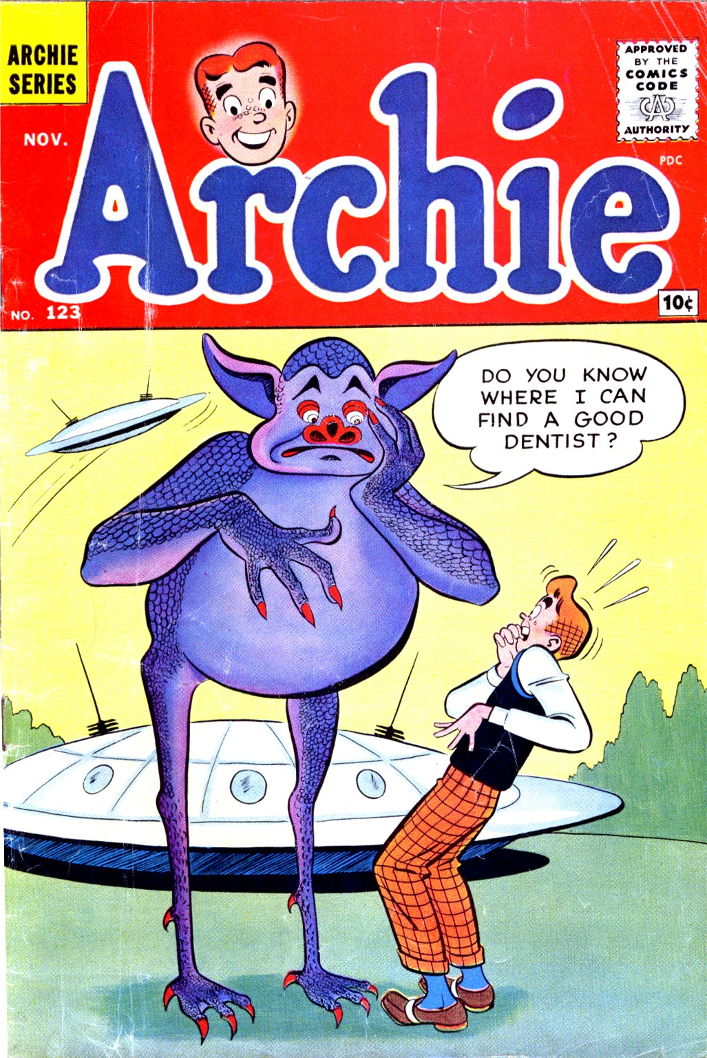 Read online Archie (1960) comic -  Issue #123 - 1