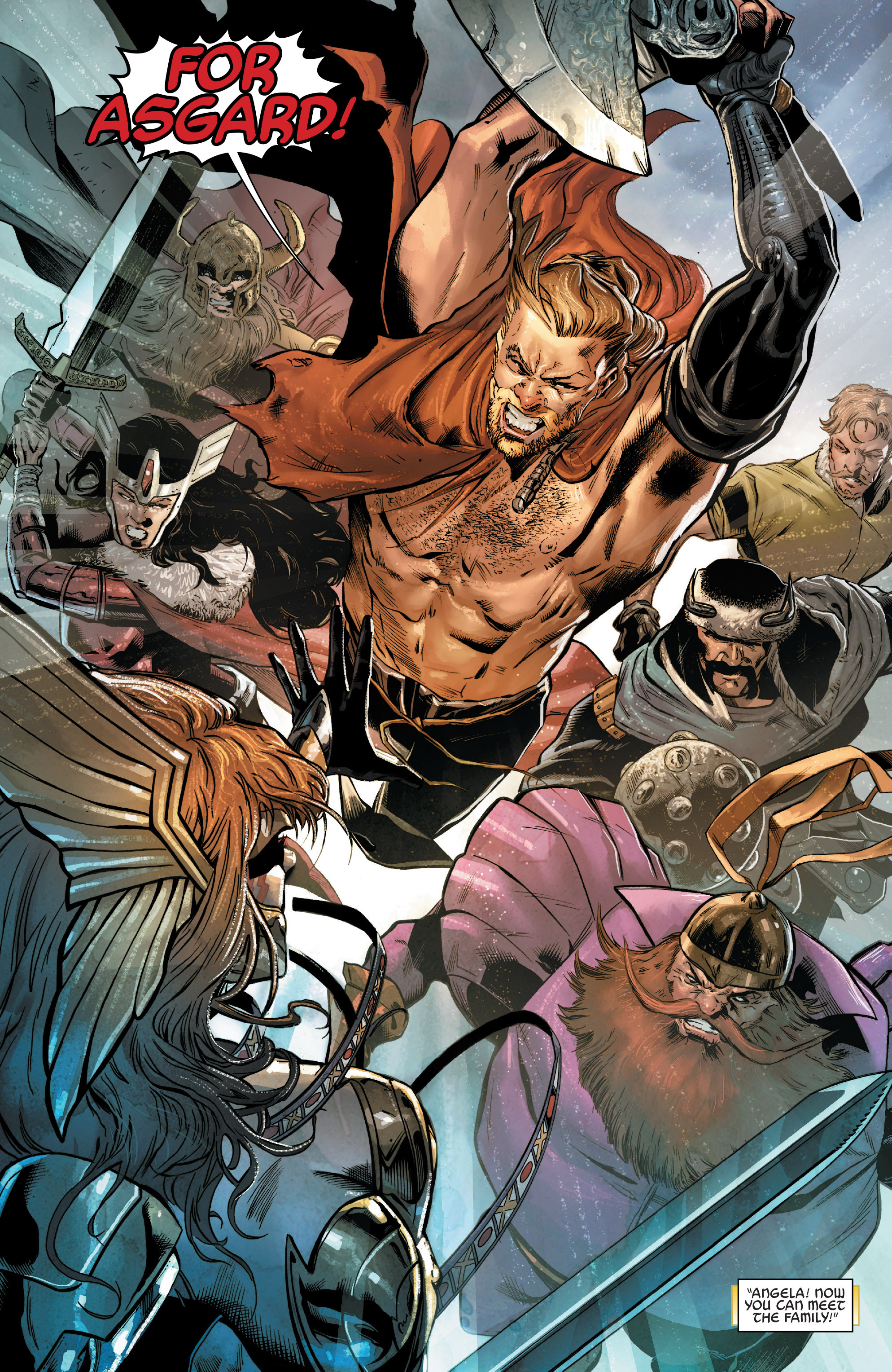 Read online Angela: Asgard's Assassin comic -  Issue #2 - 4