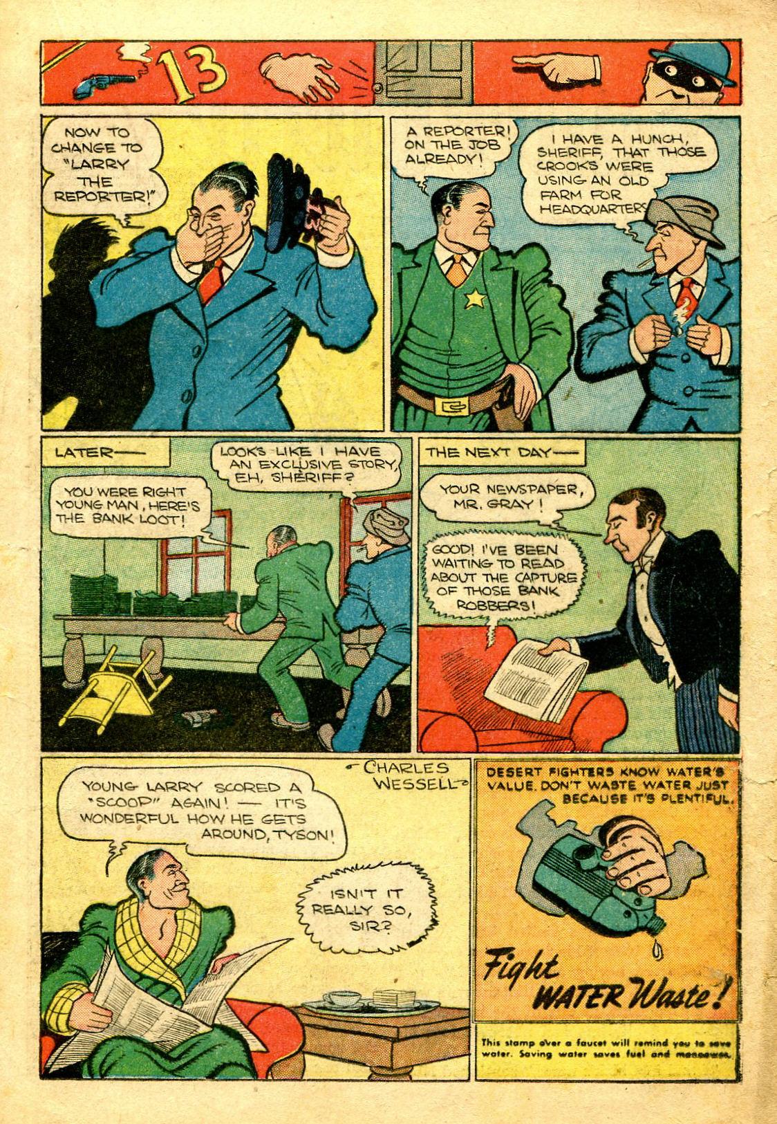 Read online Shadow Comics comic -  Issue #43 - 31