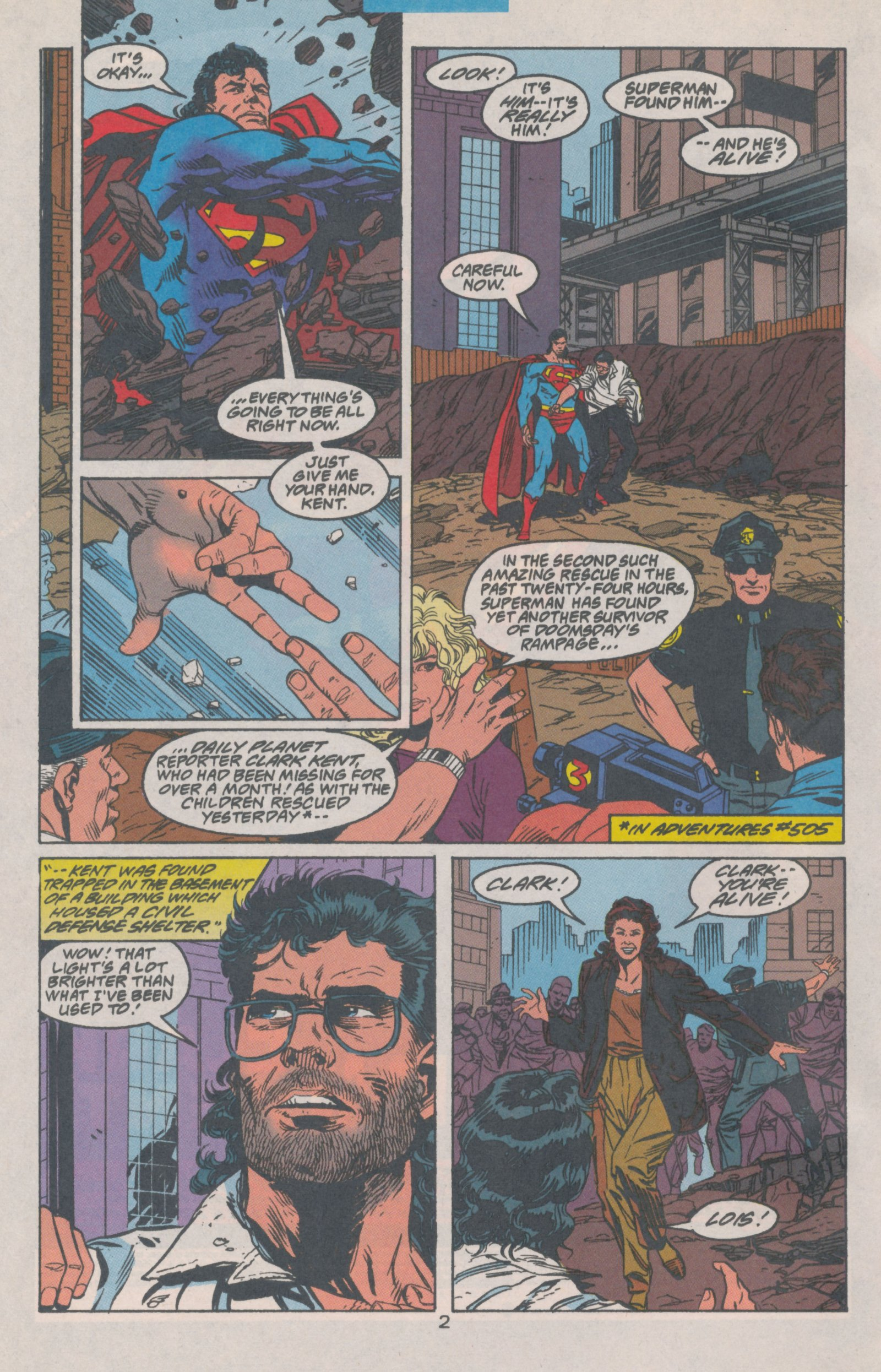 Action Comics (1938) 692 Page 3
