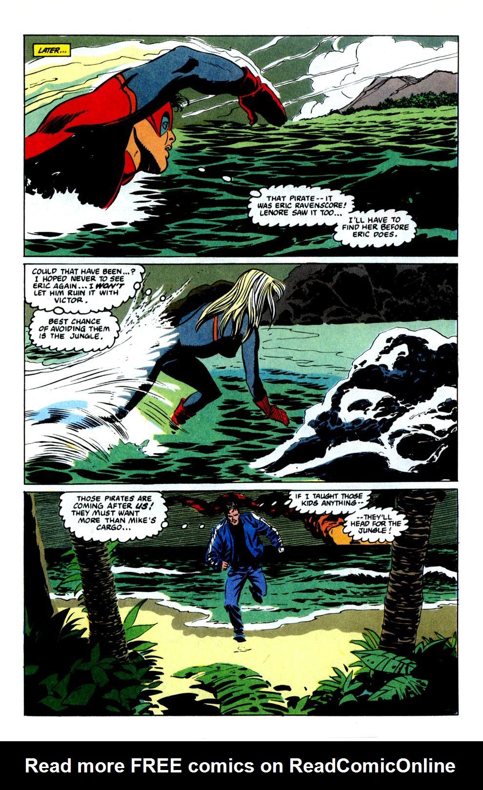 Read online Powerline comic -  Issue #8 - 14
