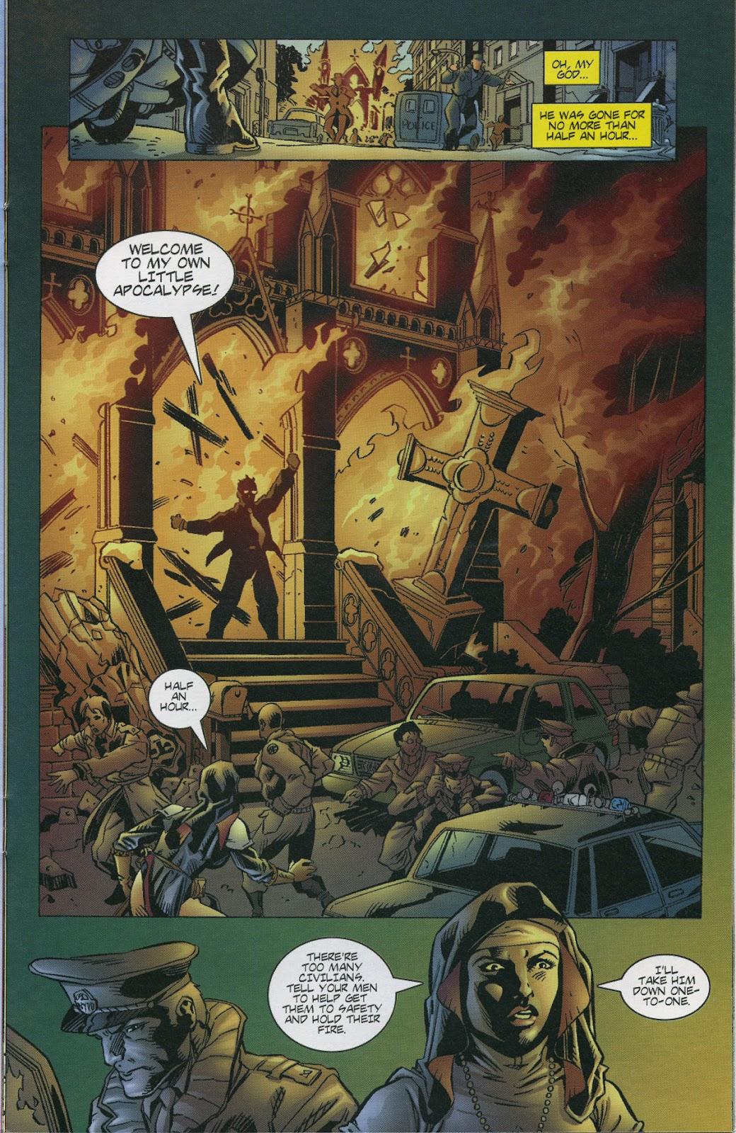 Warrior Nun Areala (1997) Issue #4 #4 - English 17