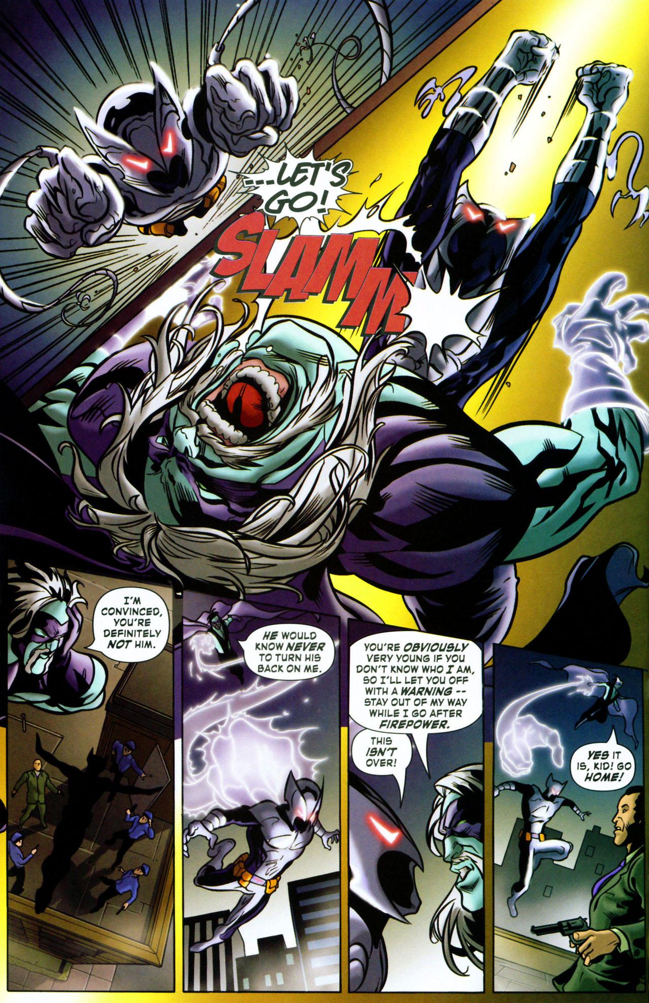 Read online ShadowHawk (2005) comic -  Issue #1 - 8