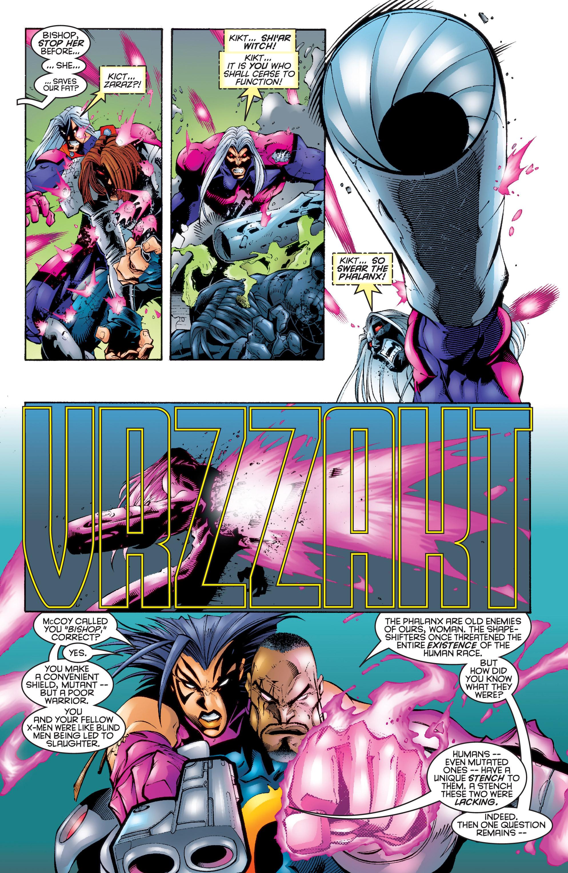 Read online Uncanny X-Men (1963) comic -  Issue #343 - 7