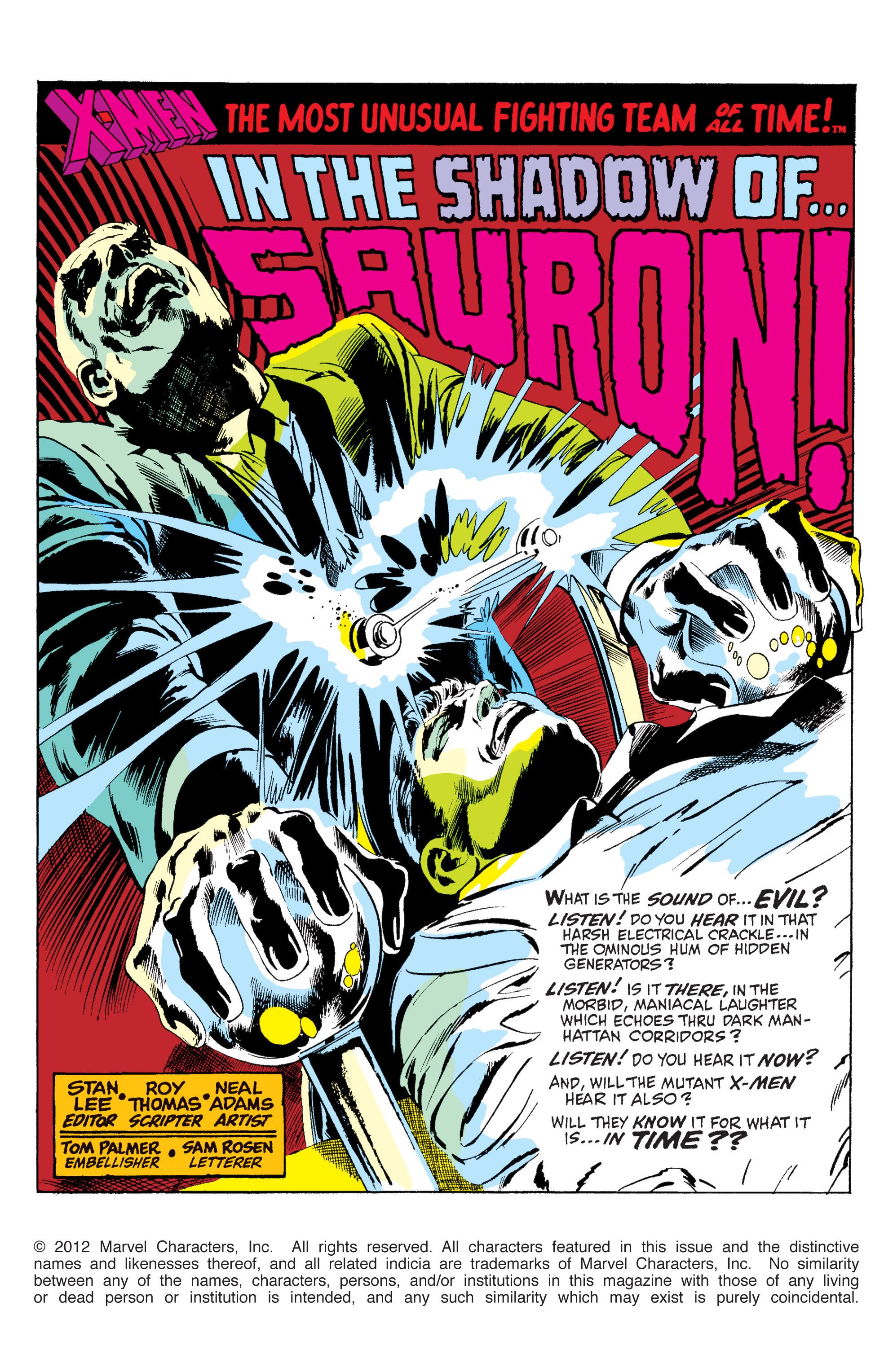 Read online Uncanny X-Men (1963) comic -  Issue #60 - 2
