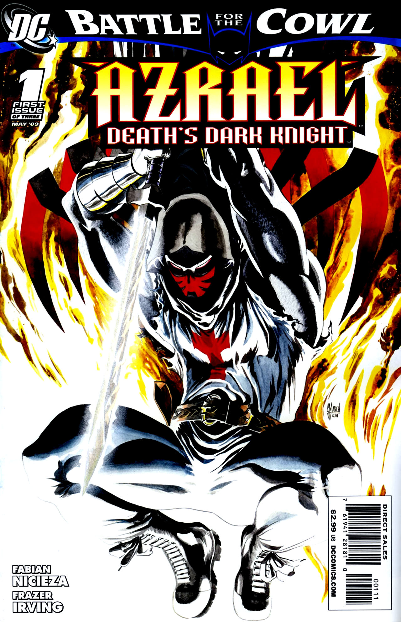 Read online Azrael: Death's Dark Knight comic -  Issue #1 - 1