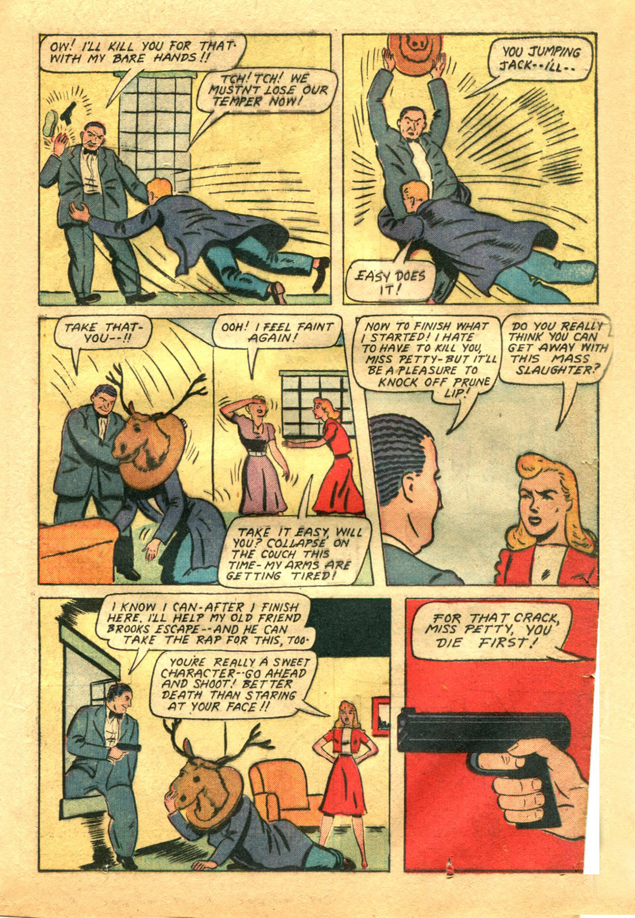 Read online Shadow Comics comic -  Issue #48 - 23