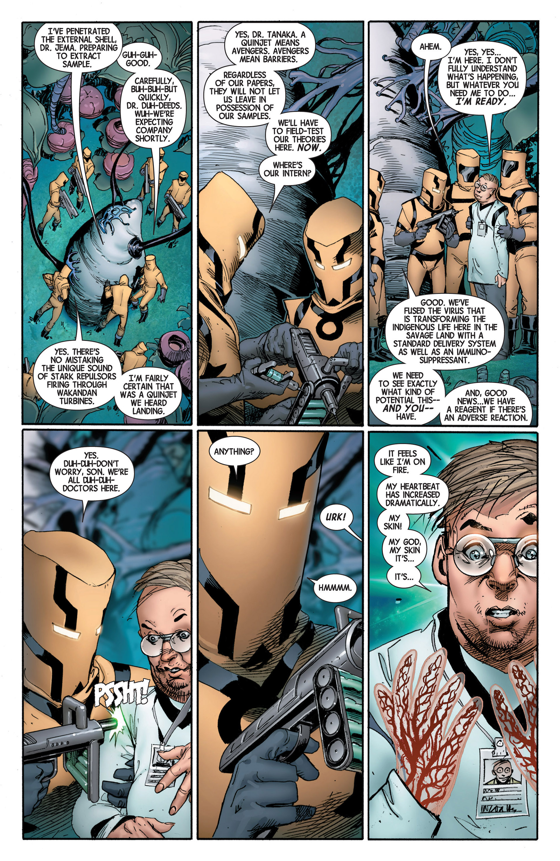 Read online Avengers (2013) comic -  Issue #4 - 12