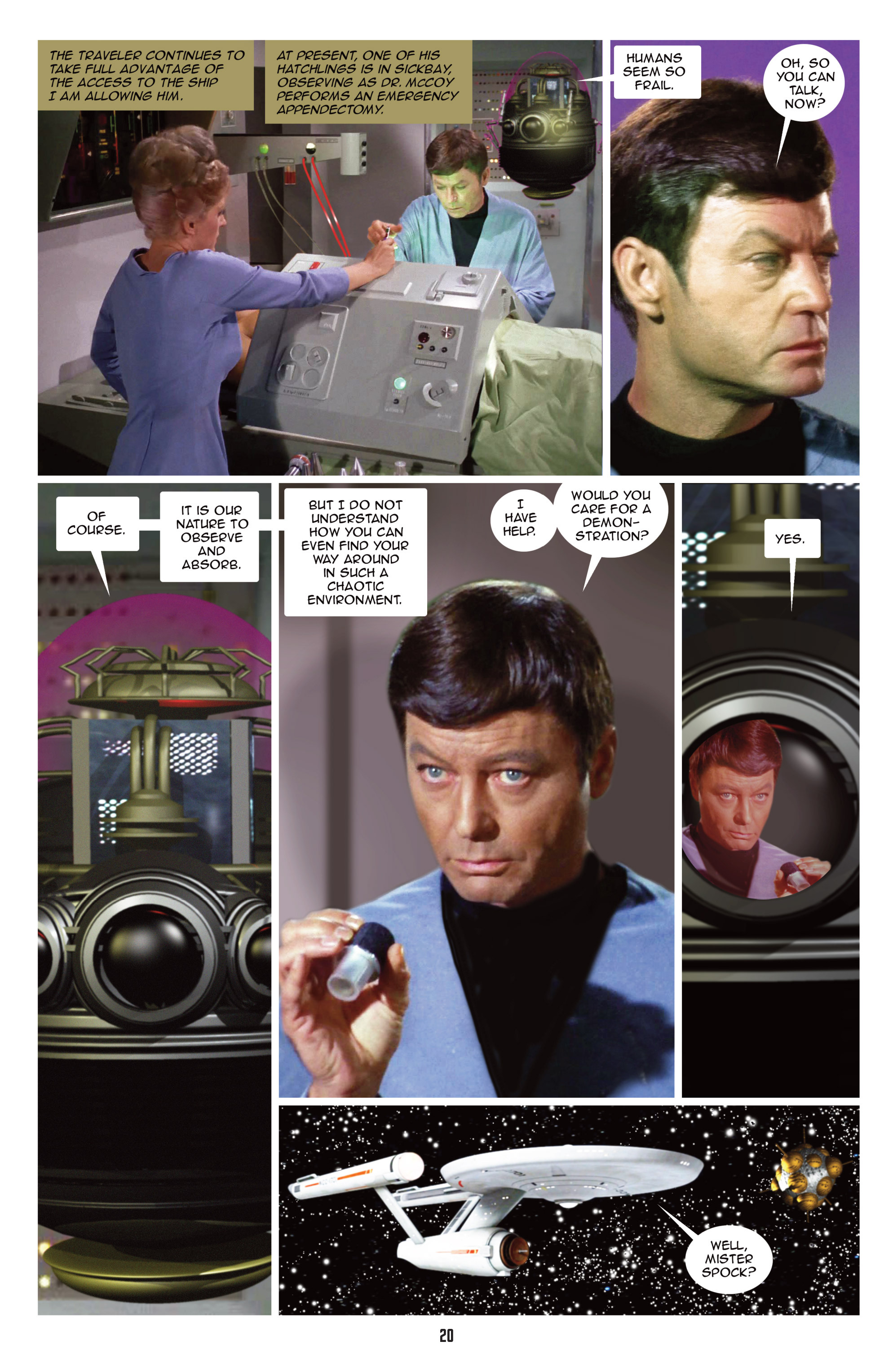 Read online Star Trek: New Visions comic -  Issue #15 - 22