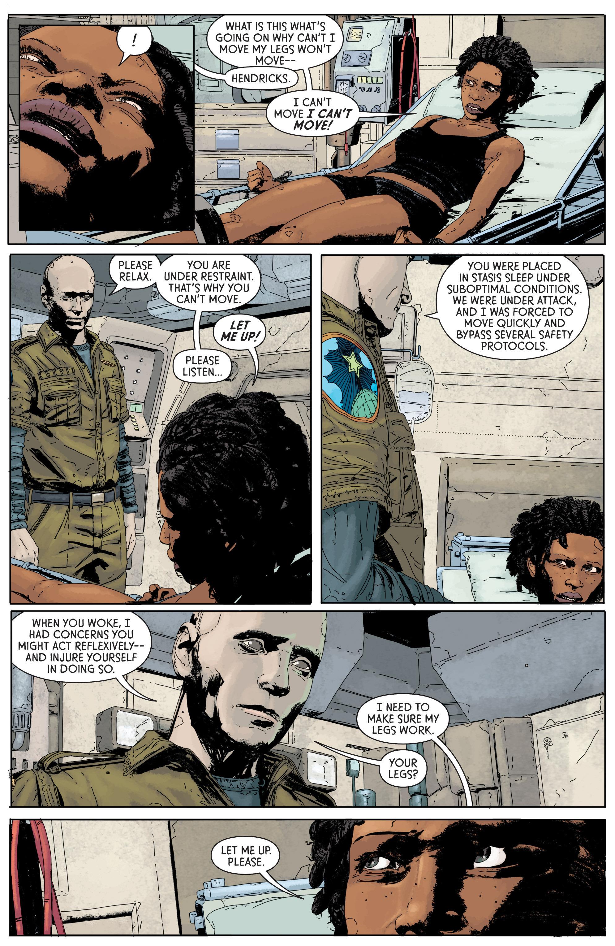 Read online Aliens: Defiance comic -  Issue #1 - 22