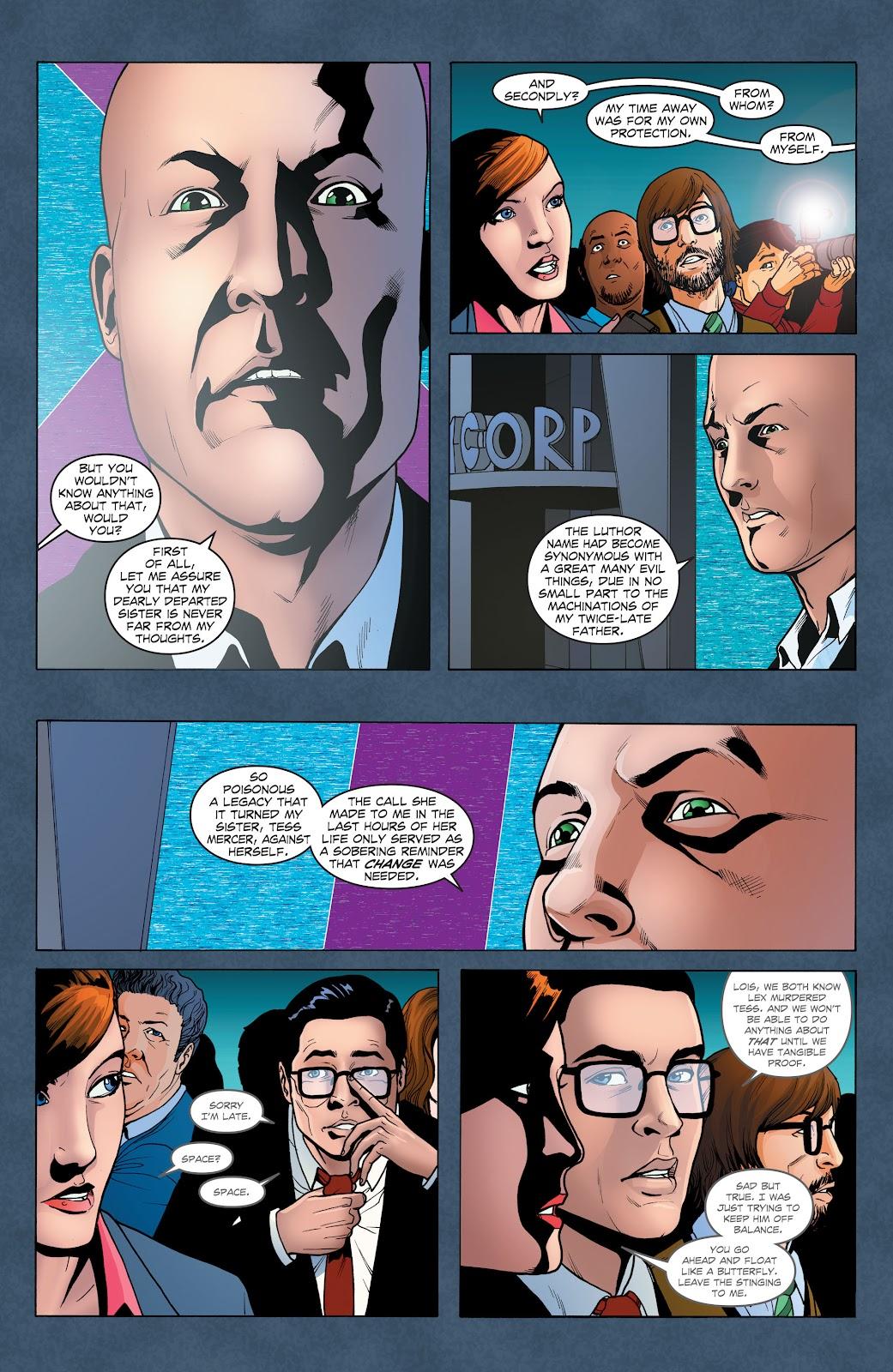 Read online Smallville Season 11 [II] comic -  Issue # TPB 1 - 46