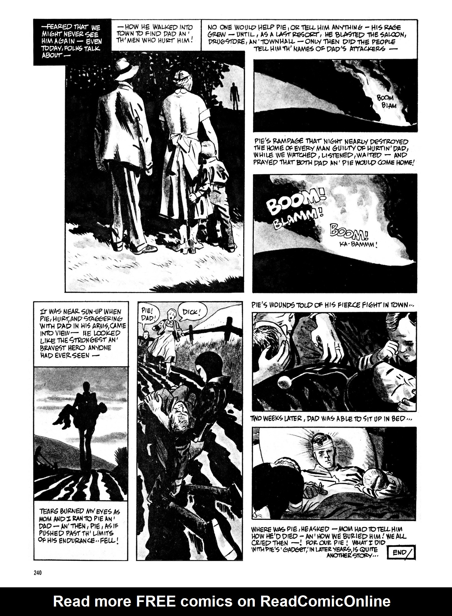 Read online Eerie Archives comic -  Issue # TPB 13 - 241