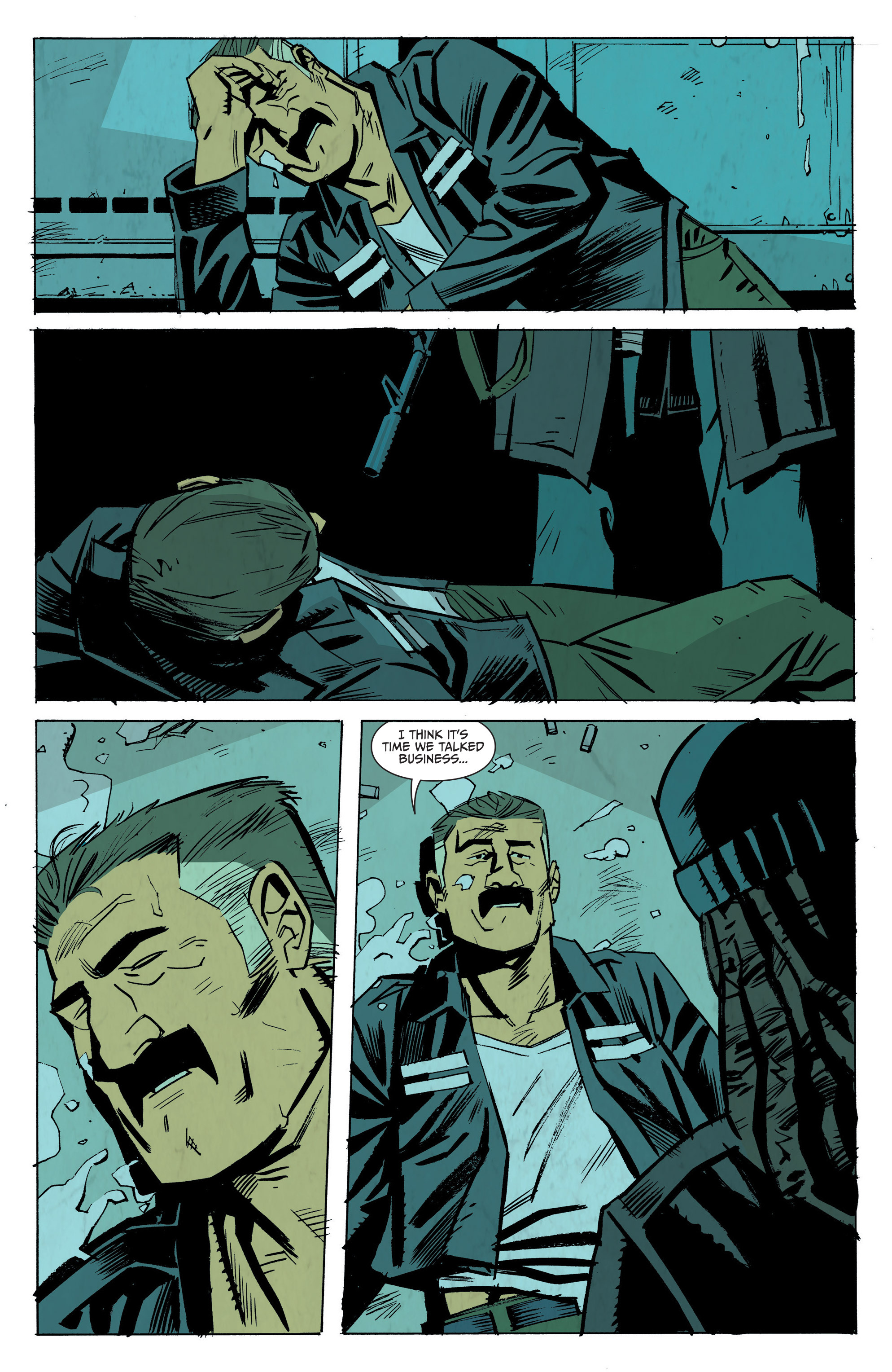 Read online Sons of Anarchy: Redwood Original comic -  Issue #8 - 13