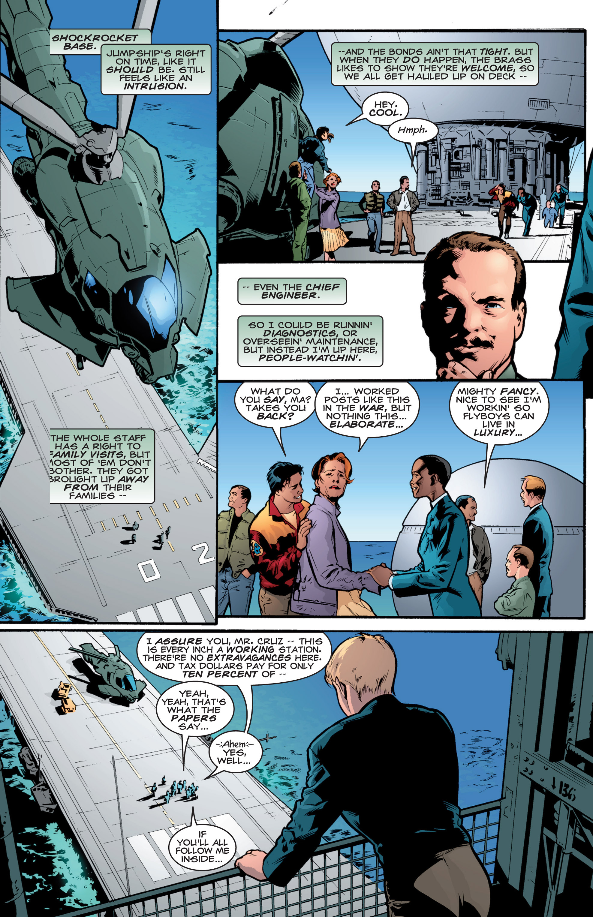Read online Shockrockets comic -  Issue # TPB - 79