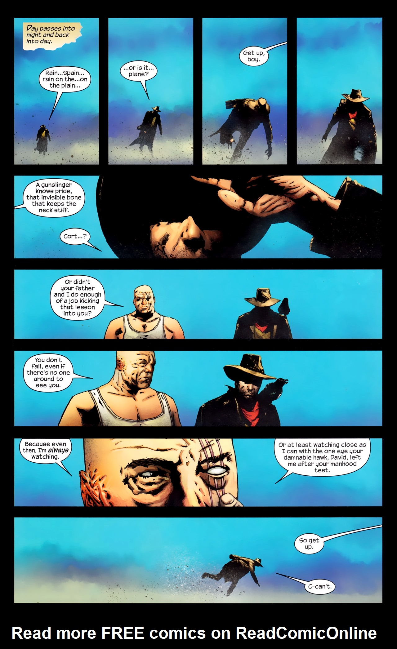 Read online Dark Tower: The Gunslinger - The Way Station comic -  Issue #1 - 20