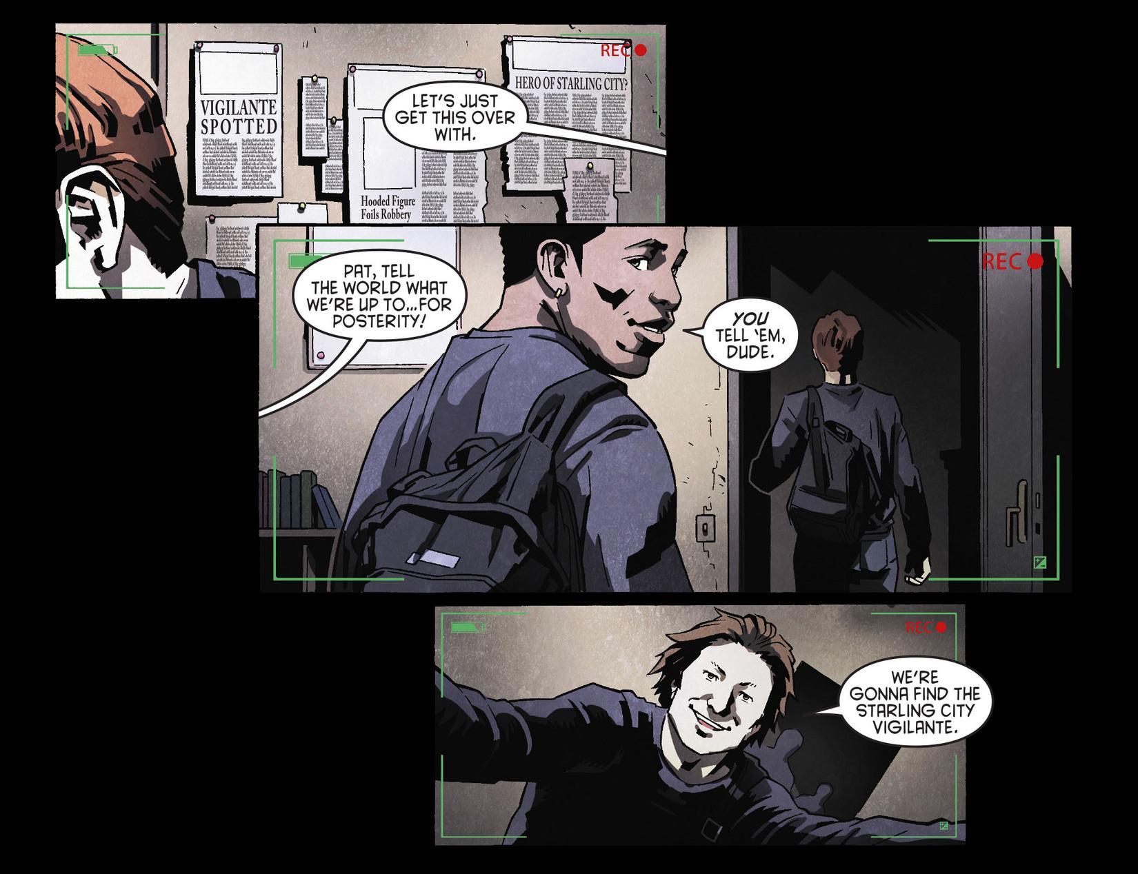 Read online Arrow [II] comic -  Issue #8 - 4