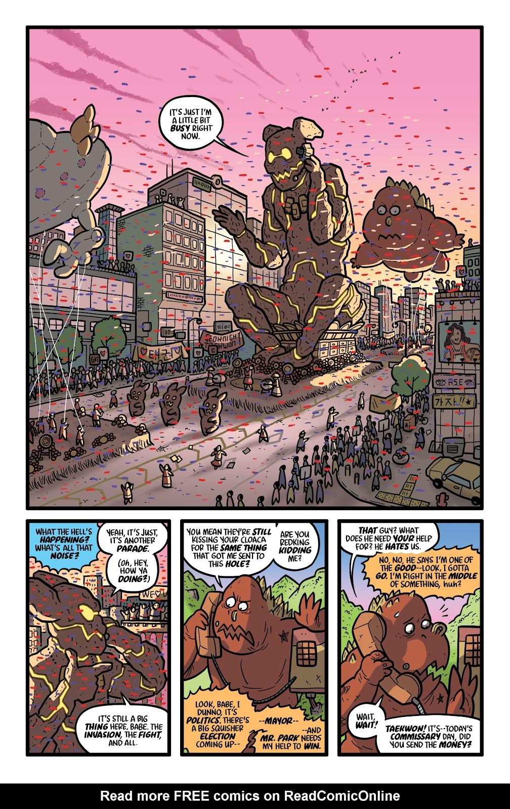 Read online Kaijumax: Season Four comic -  Issue #4 - 7