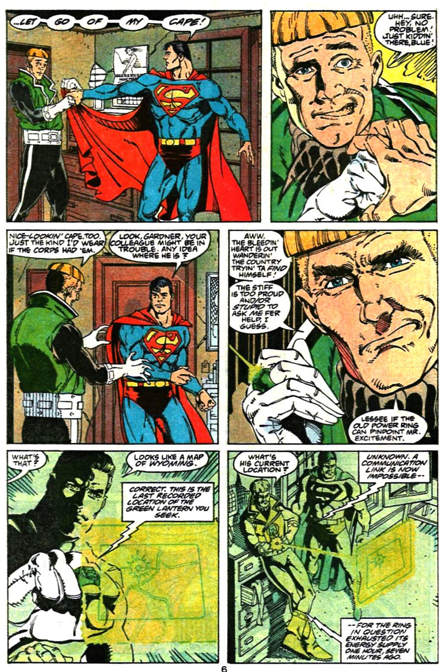Read online Adventures of Superman (1987) comic -  Issue #473 - 8