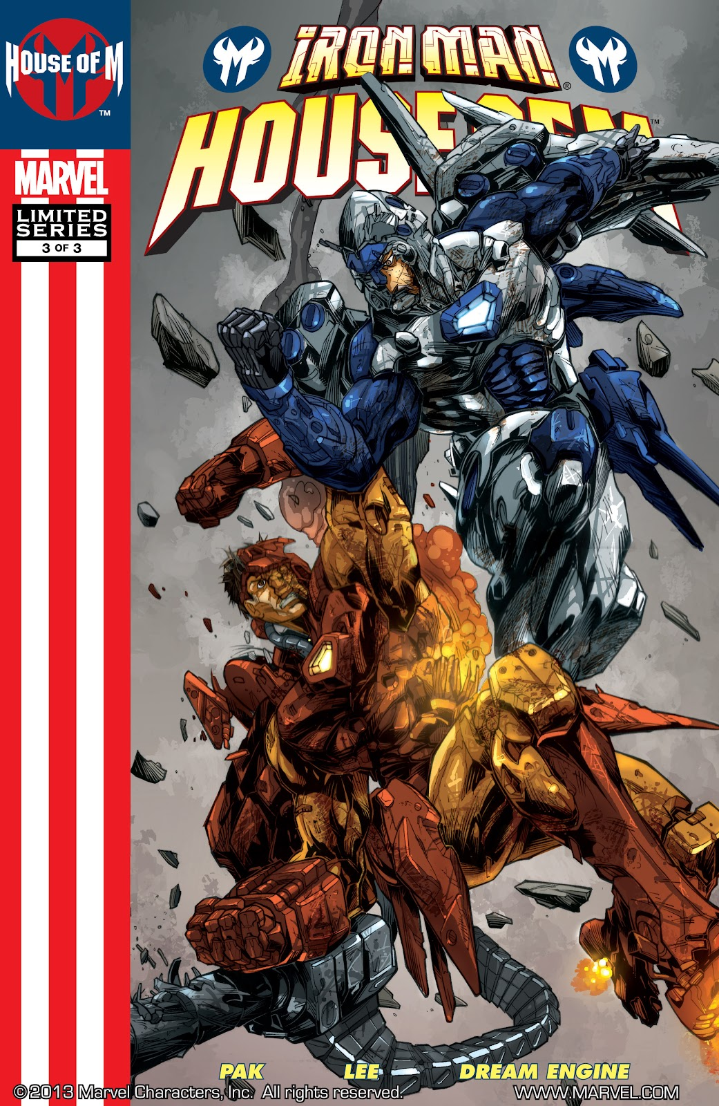 Iron Man: House of M Issue #3 #3 - English 1