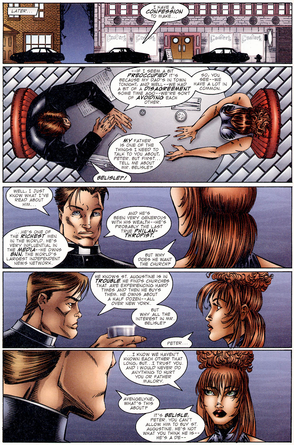 Read online Avengelyne (1995) comic -  Issue #2 - 13