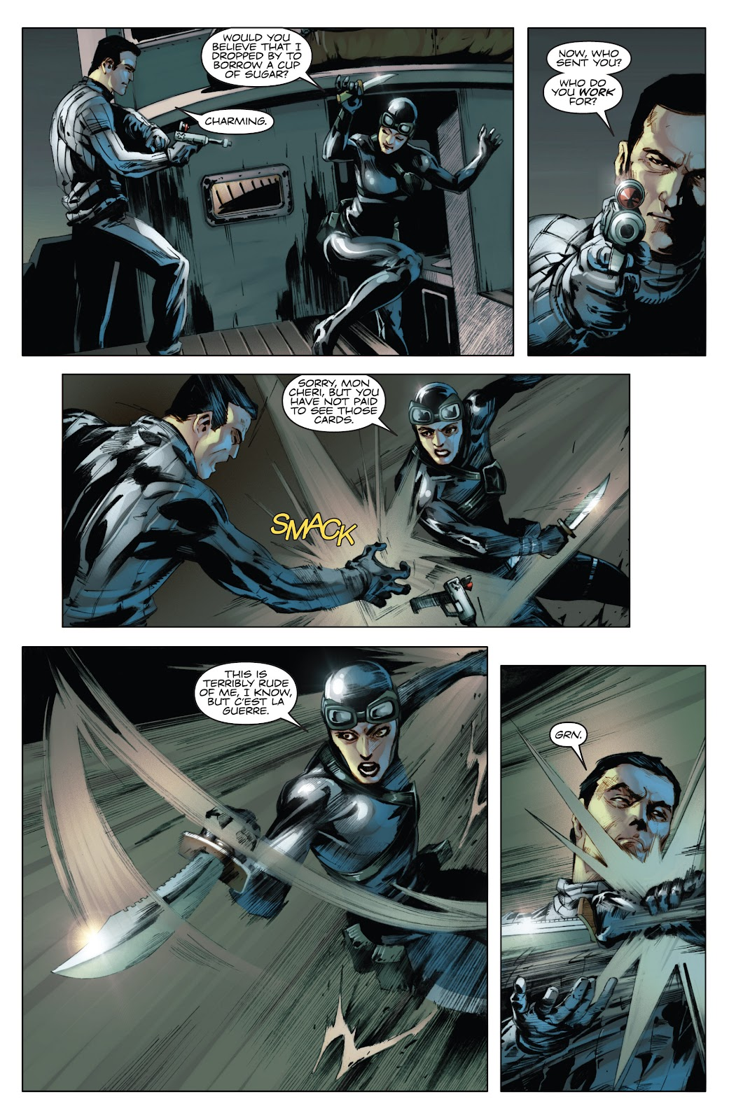 Read online Codename: Action comic -  Issue #3 - 19