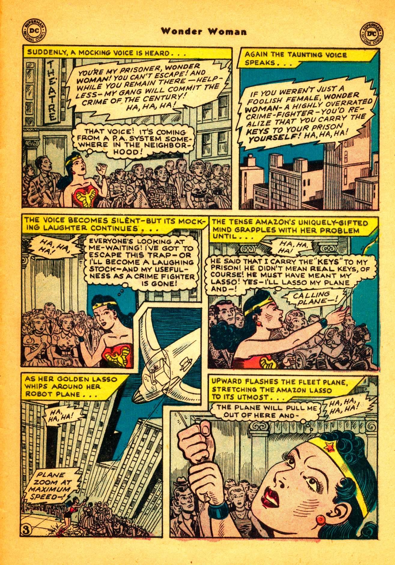 Read online Wonder Woman (1942) comic -  Issue #86 - 28