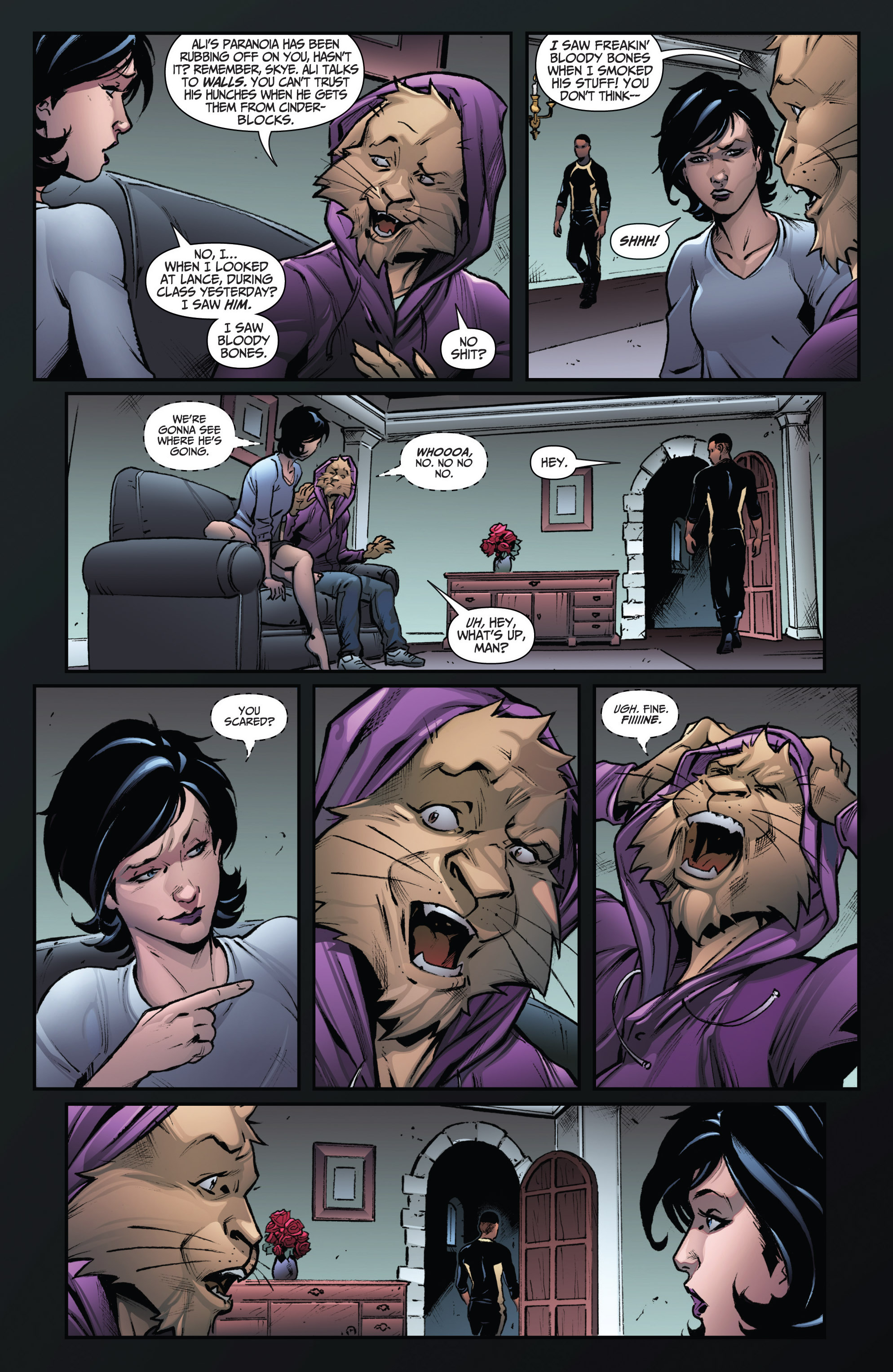 Read online Grimm Fairy Tales: Arcane Acre comic -  Issue # TPB 3 - 40